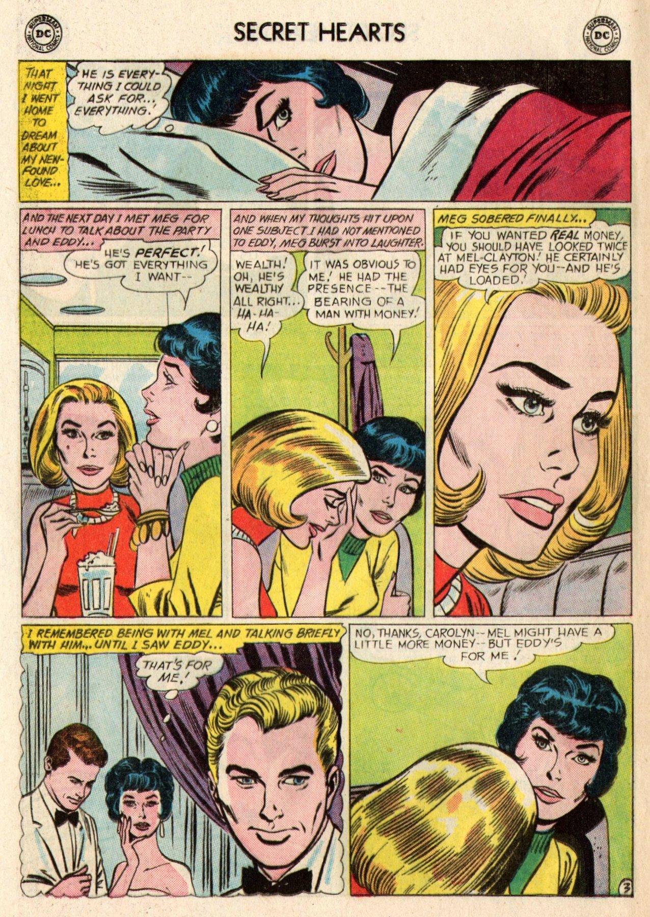 Read online Secret Hearts comic -  Issue #95 - 20
