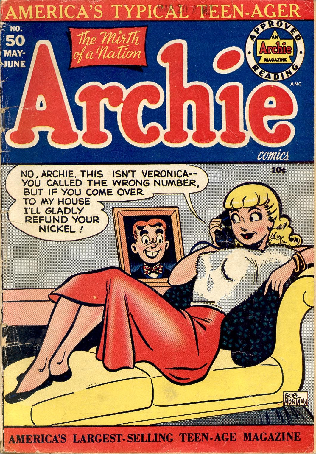 Archie Comics issue 050 - Page 1
