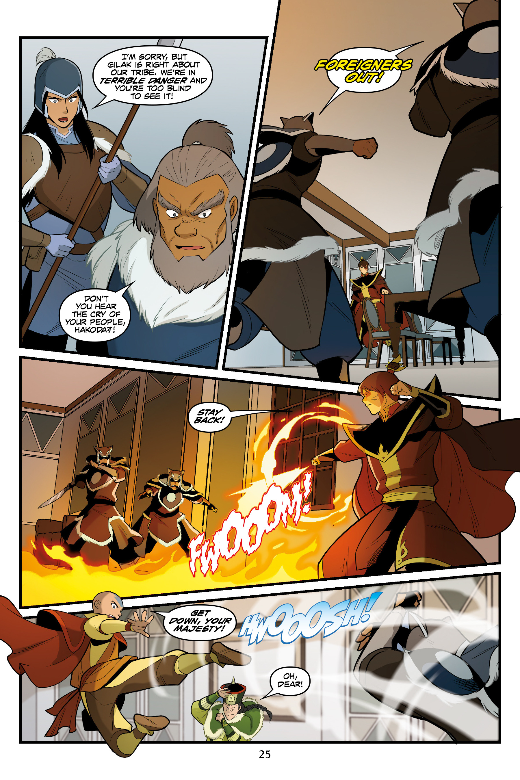Read online Nickelodeon Avatar: The Last Airbender - North and South comic -  Issue #3 - 26