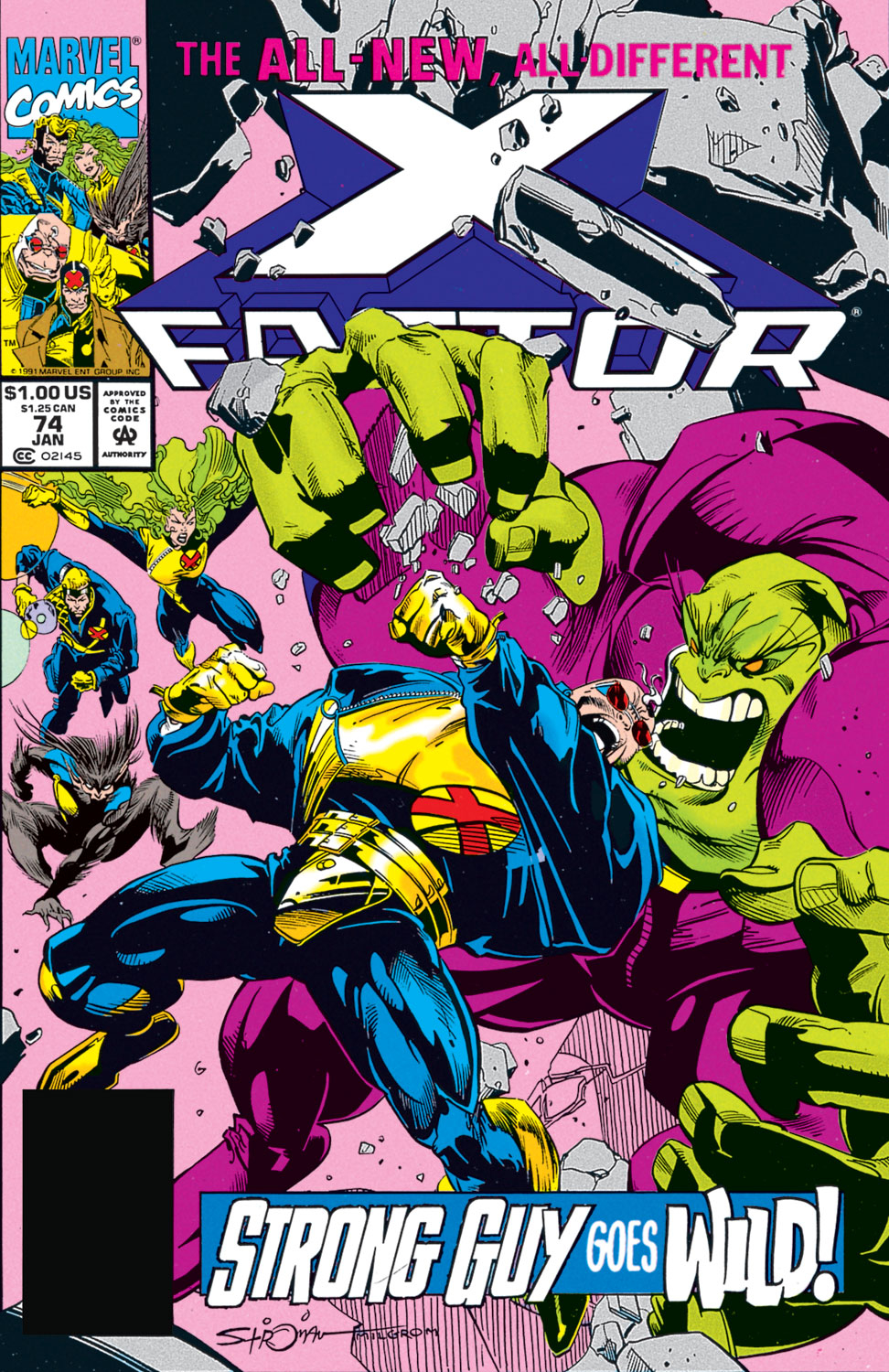 Read online X-Factor (1986) comic -  Issue #74 - 1