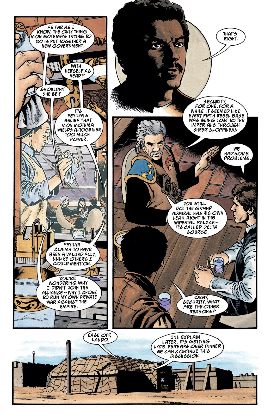 Read online Star Wars Legends: The New Republic - Epic Collection comic -  Issue # TPB 4 (Part 3) - 18