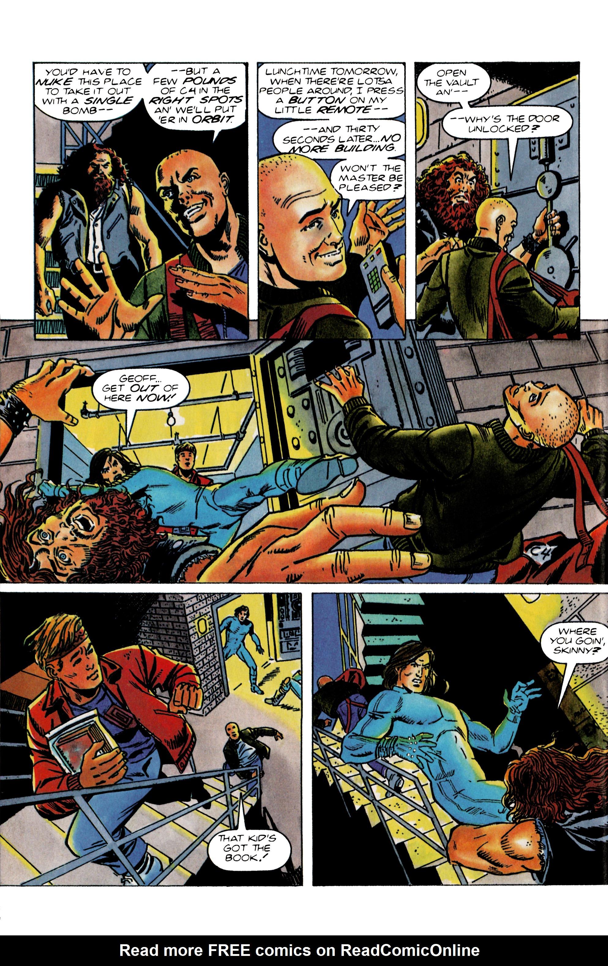 Read online Eternal Warrior (1992) comic -  Issue #22 - 16