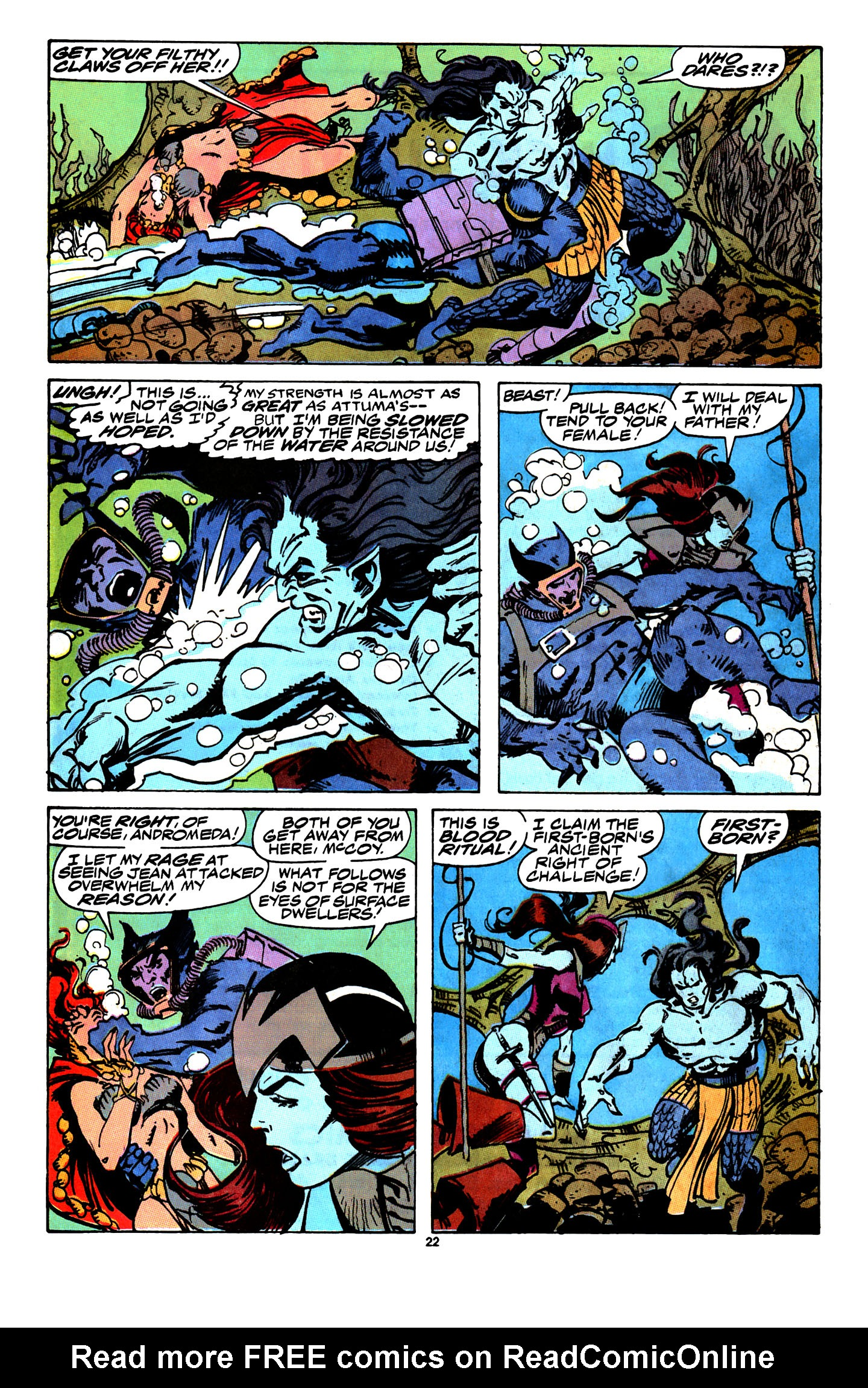 Read online X-Factor (1986) comic -  Issue # _ Annual 4 - 20