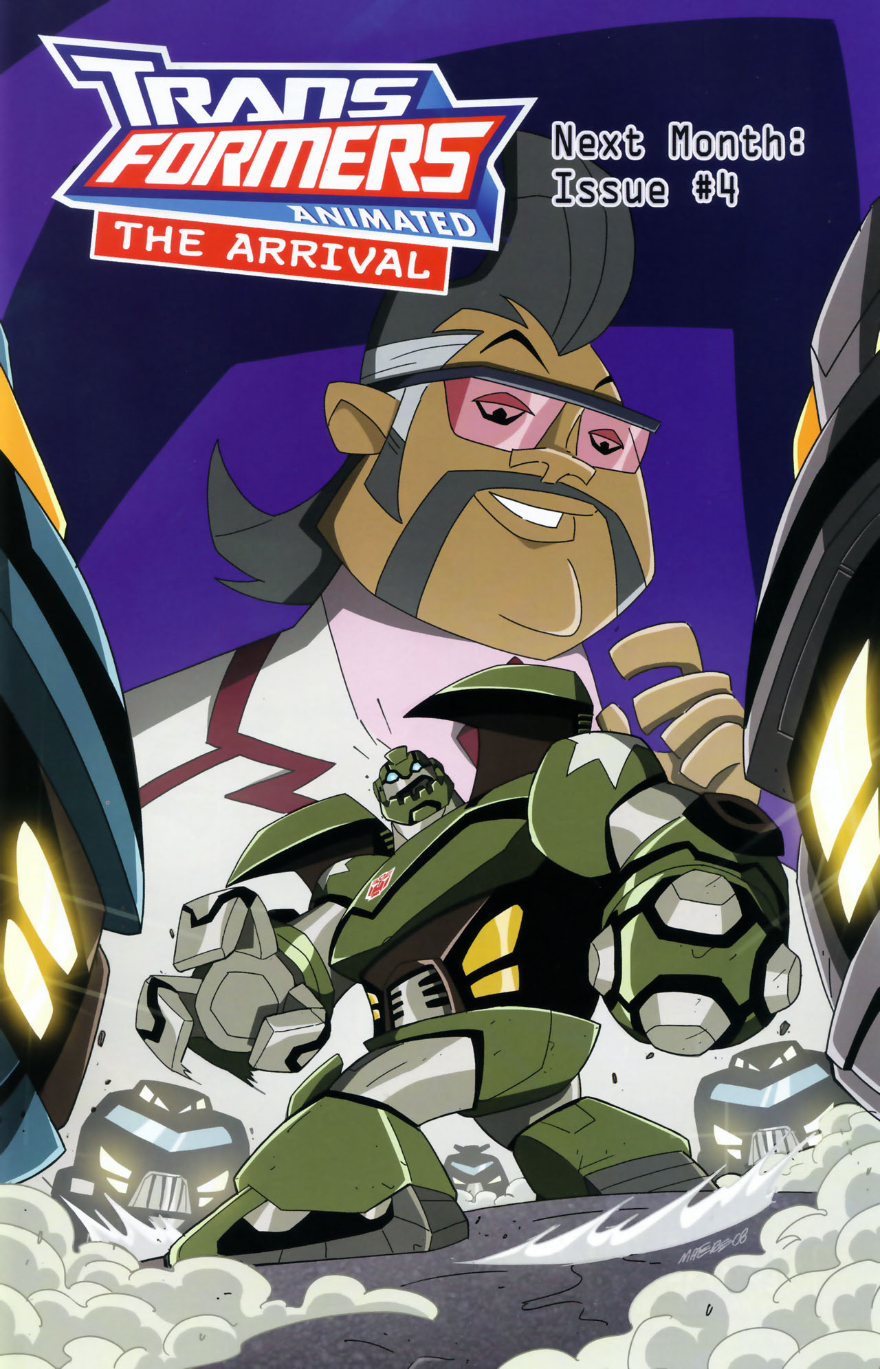 Read online Transformers Animated: The Arrival comic -  Issue #3 - 25