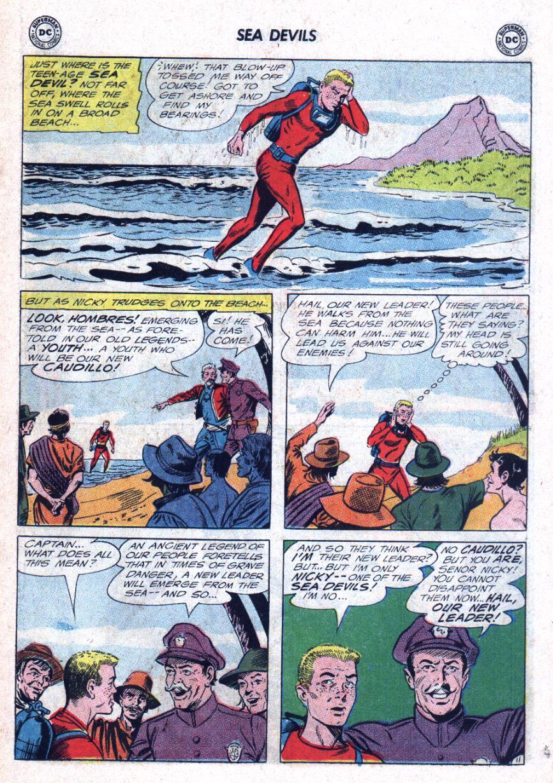Read online Sea Devils comic -  Issue #25 - 16