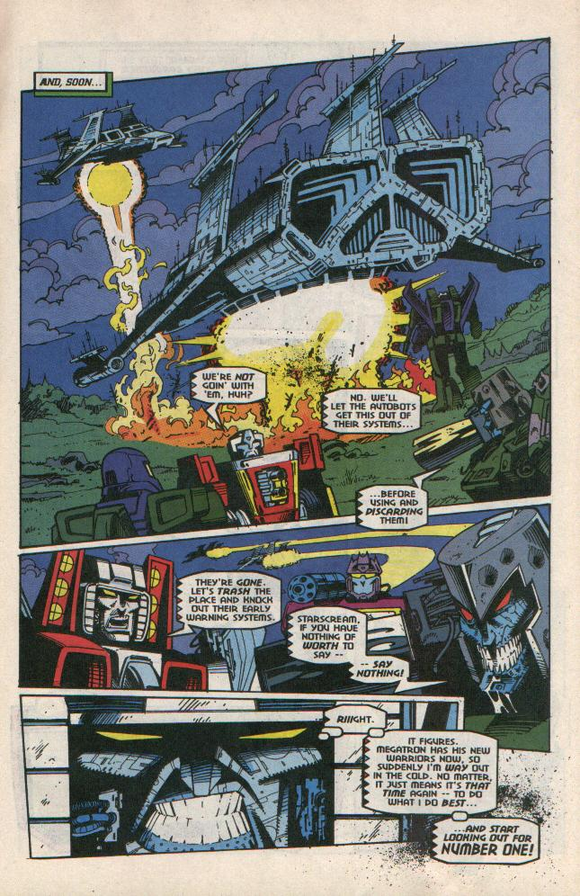 Read online Transformers: Generation 2 comic -  Issue #8 - 9