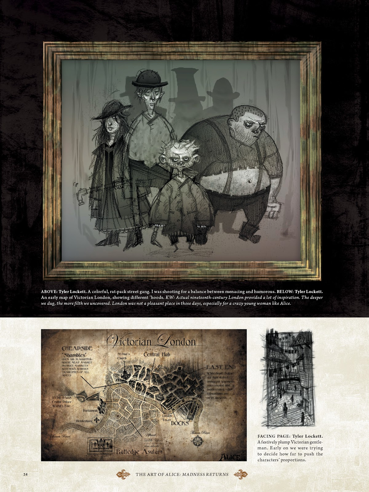 Read online The Art of Alice: Madness Returns comic -  Issue # TPB (Part 1) - 24