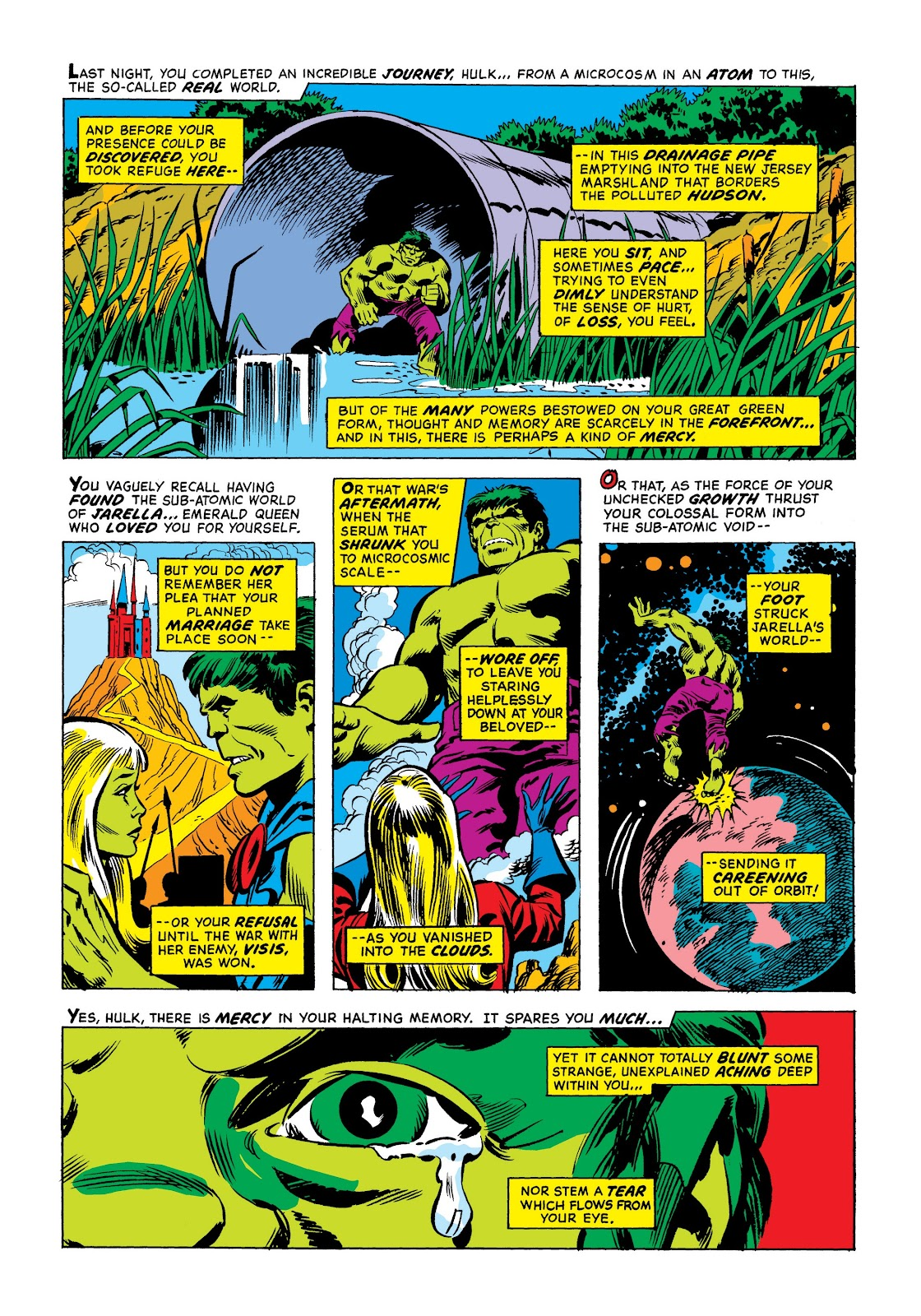 Read online Marvel Masterworks: The Incredible Hulk comic -  Issue # TPB 9 (Part 1) - 11