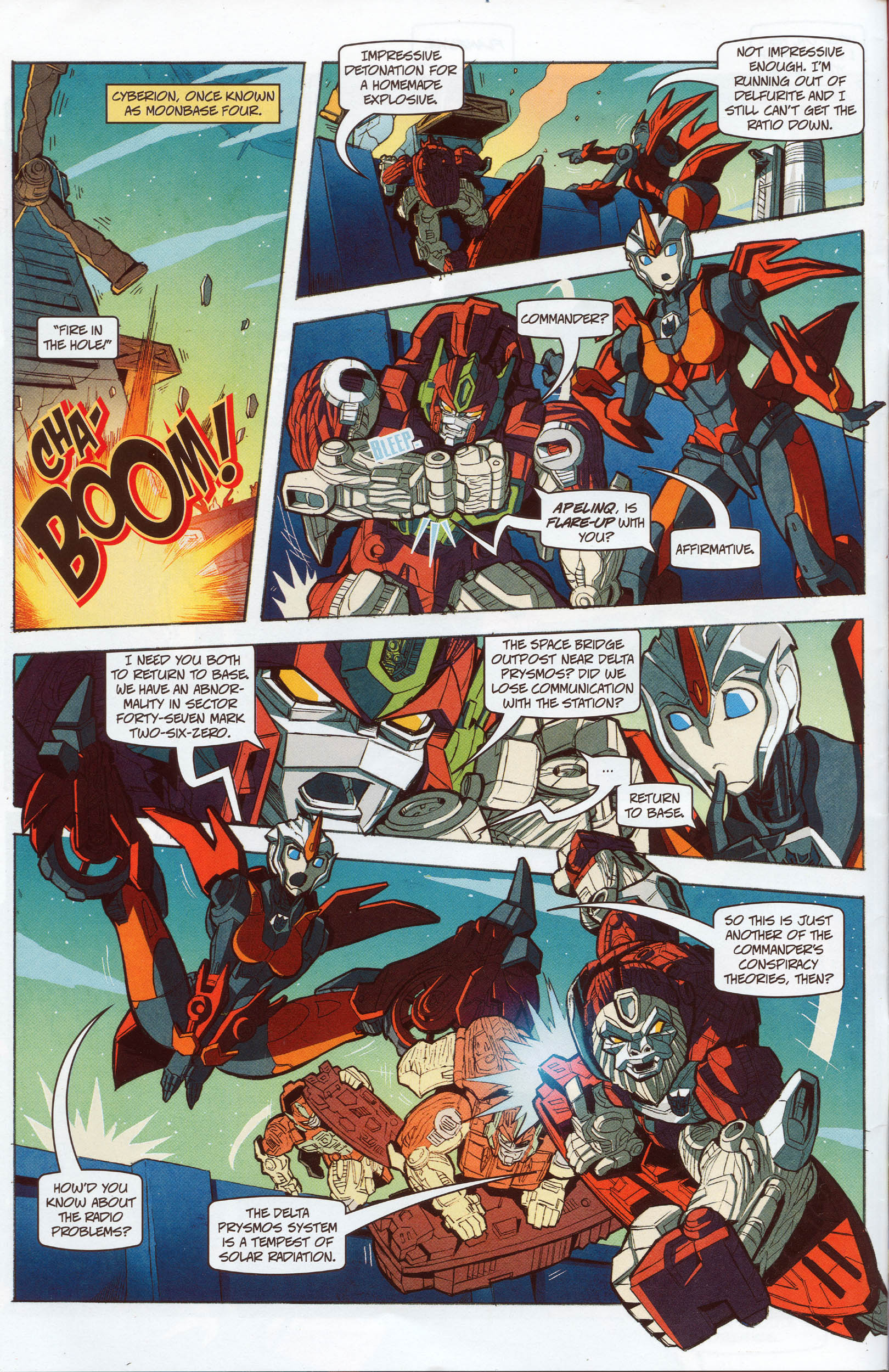 Read online Transformers: Timelines comic -  Issue #10 - 9