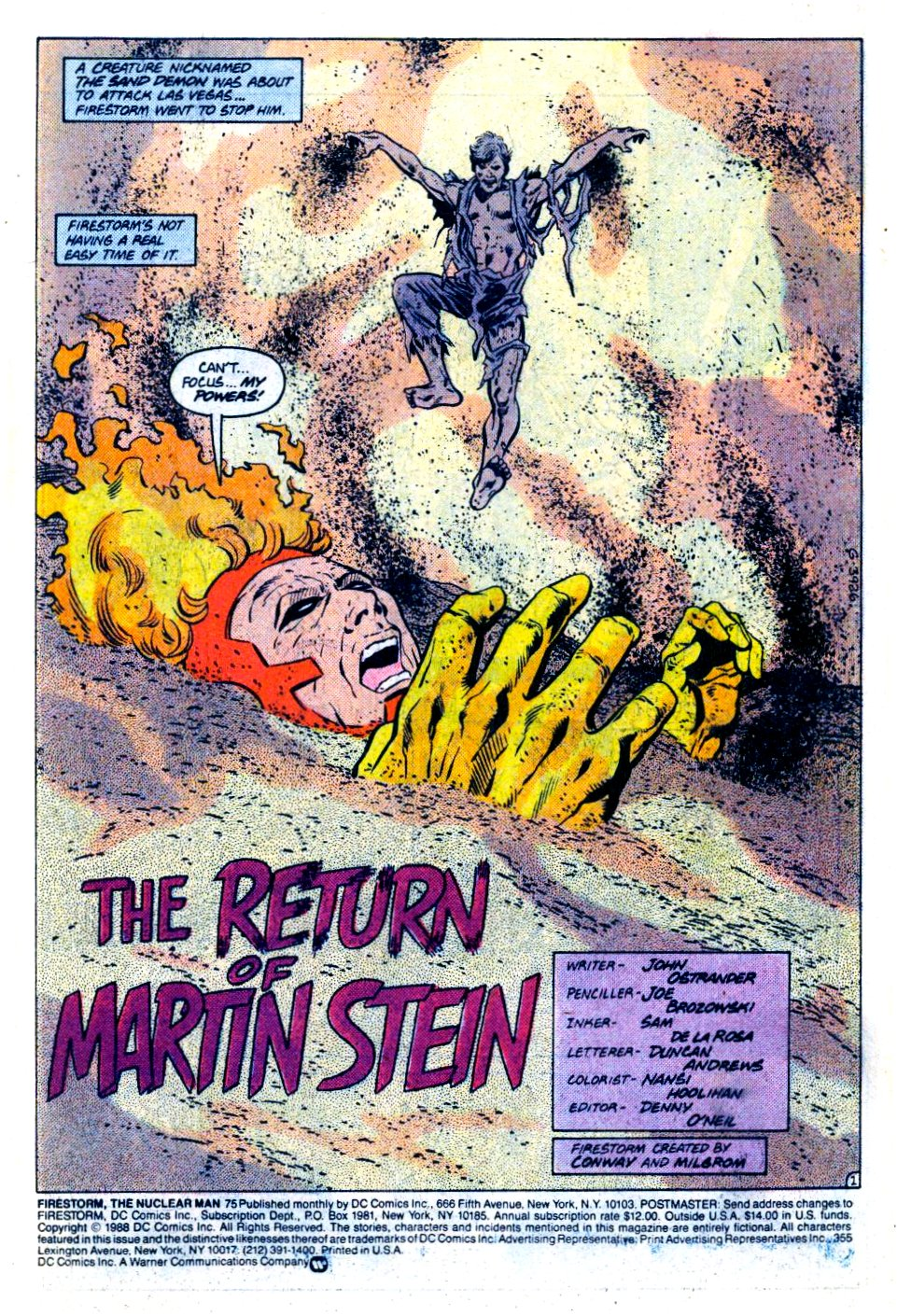 Firestorm, the Nuclear Man 75 Page 2