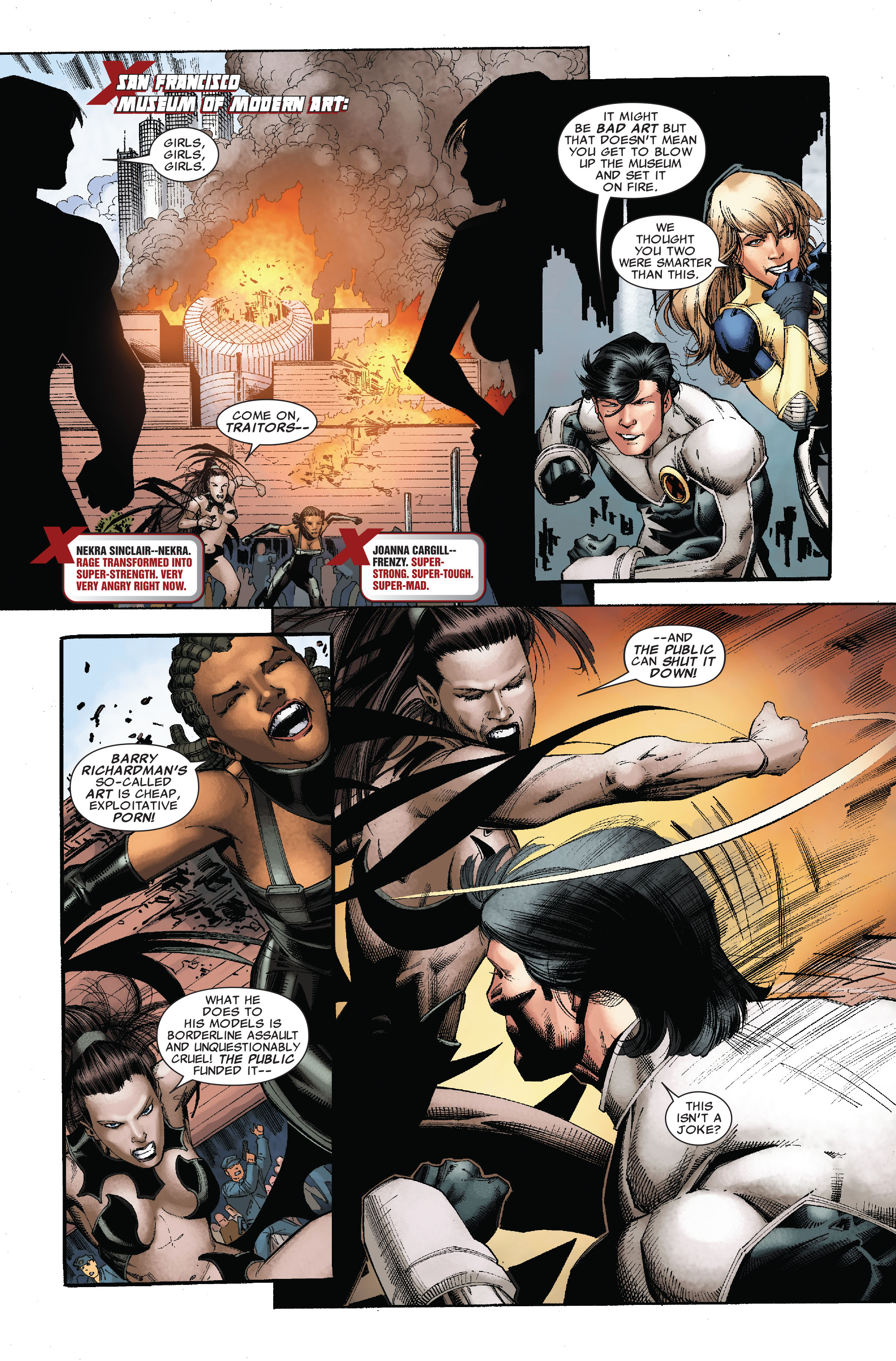 Read online Uncanny X-Men (1963) comic -  Issue #528 - 16