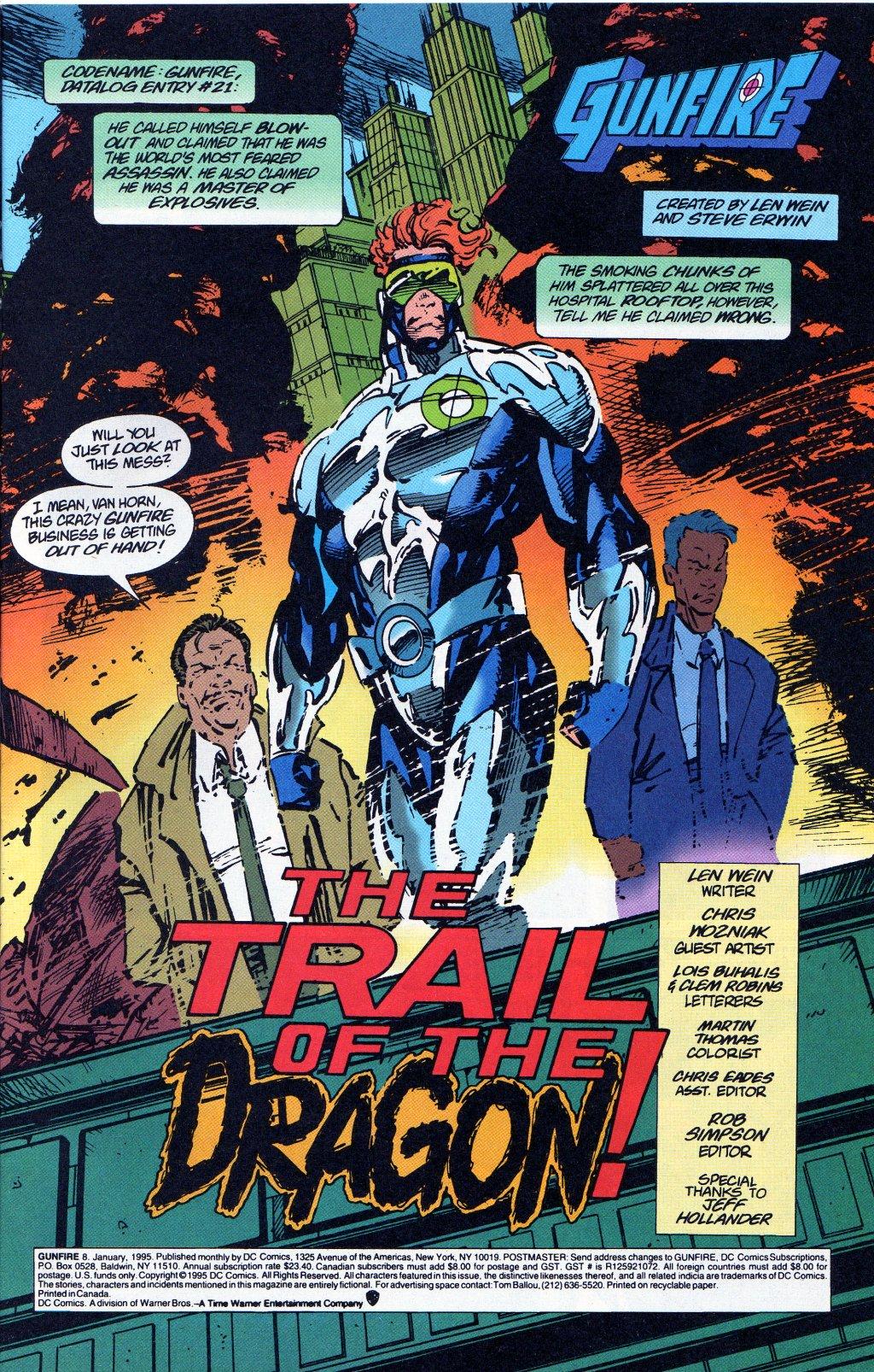 Read online Gunfire comic -  Issue #8 - 2
