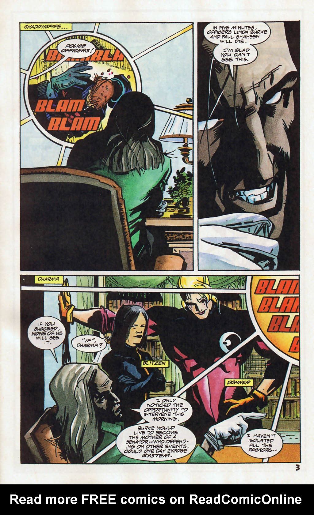 Read online Shadow Cabinet comic -  Issue #11 - 4