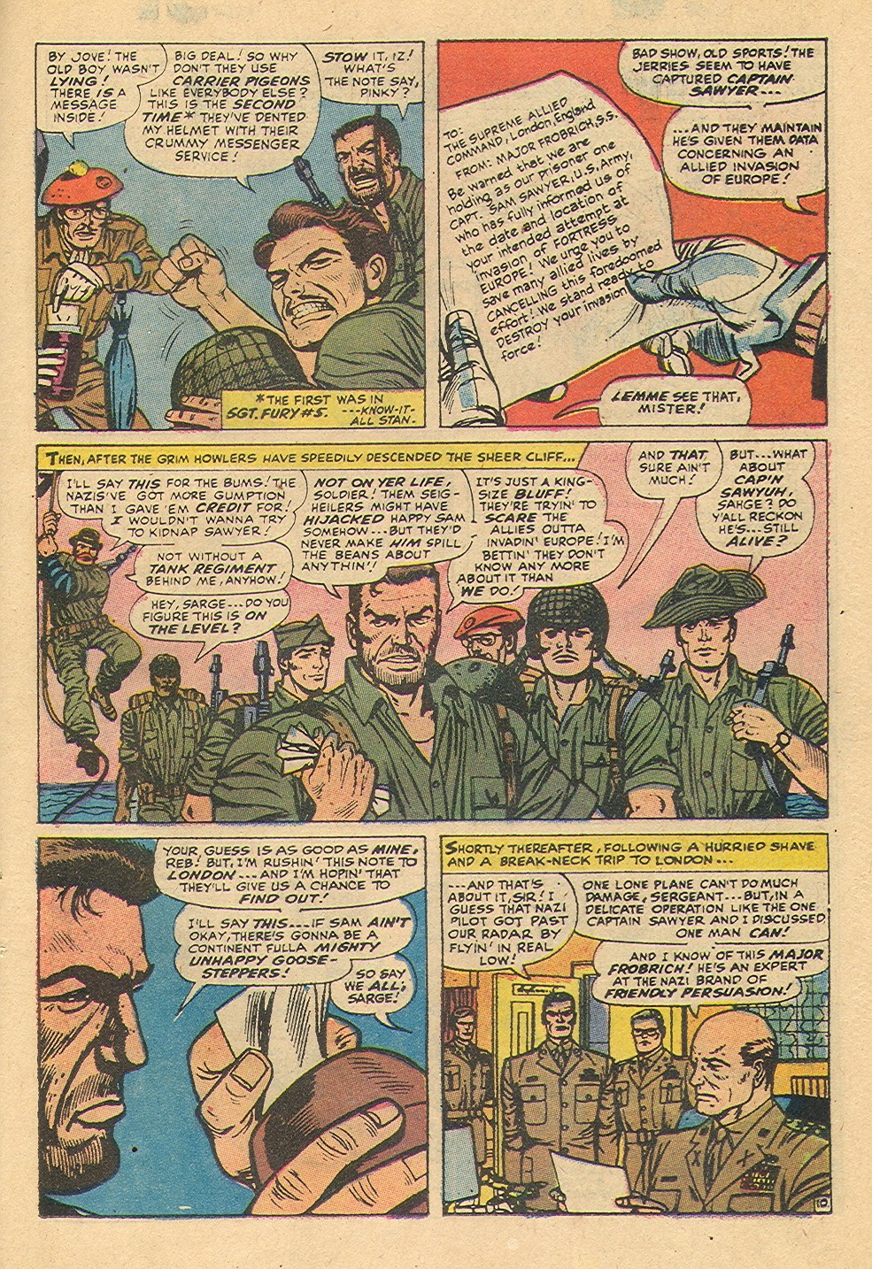 Read online Sgt. Fury comic -  Issue #92 - 35