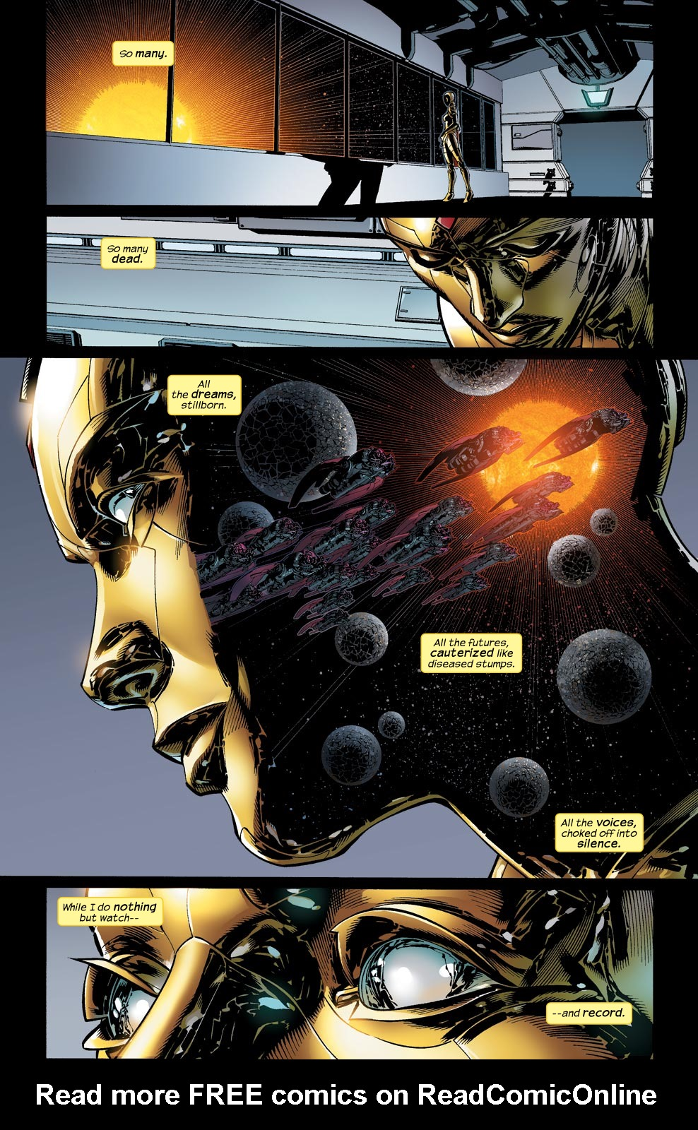 Read online Ultimate Vision comic -  Issue #1 - 17