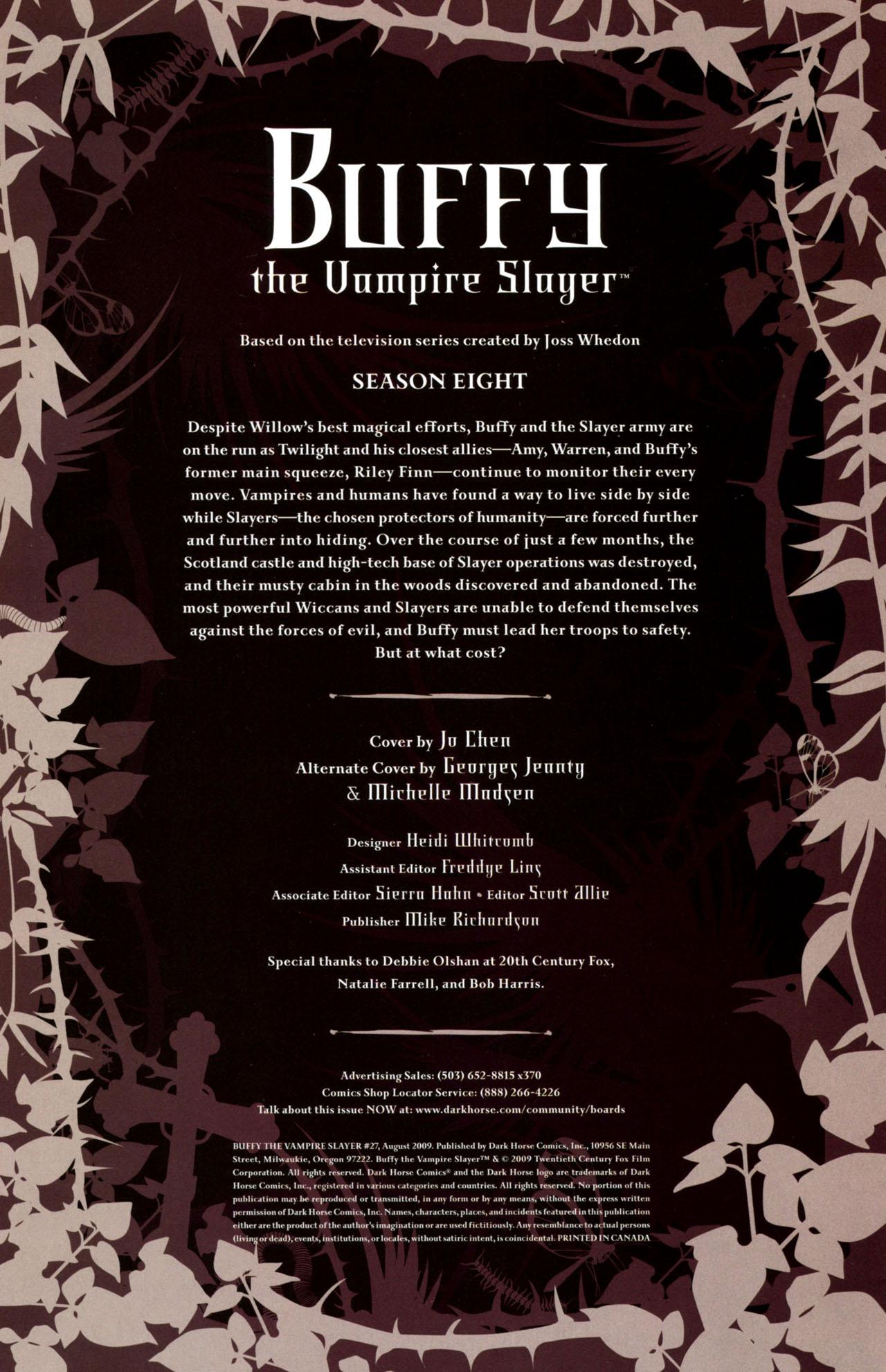 Buffy the Vampire Slayer Season Eight 27 Page 2