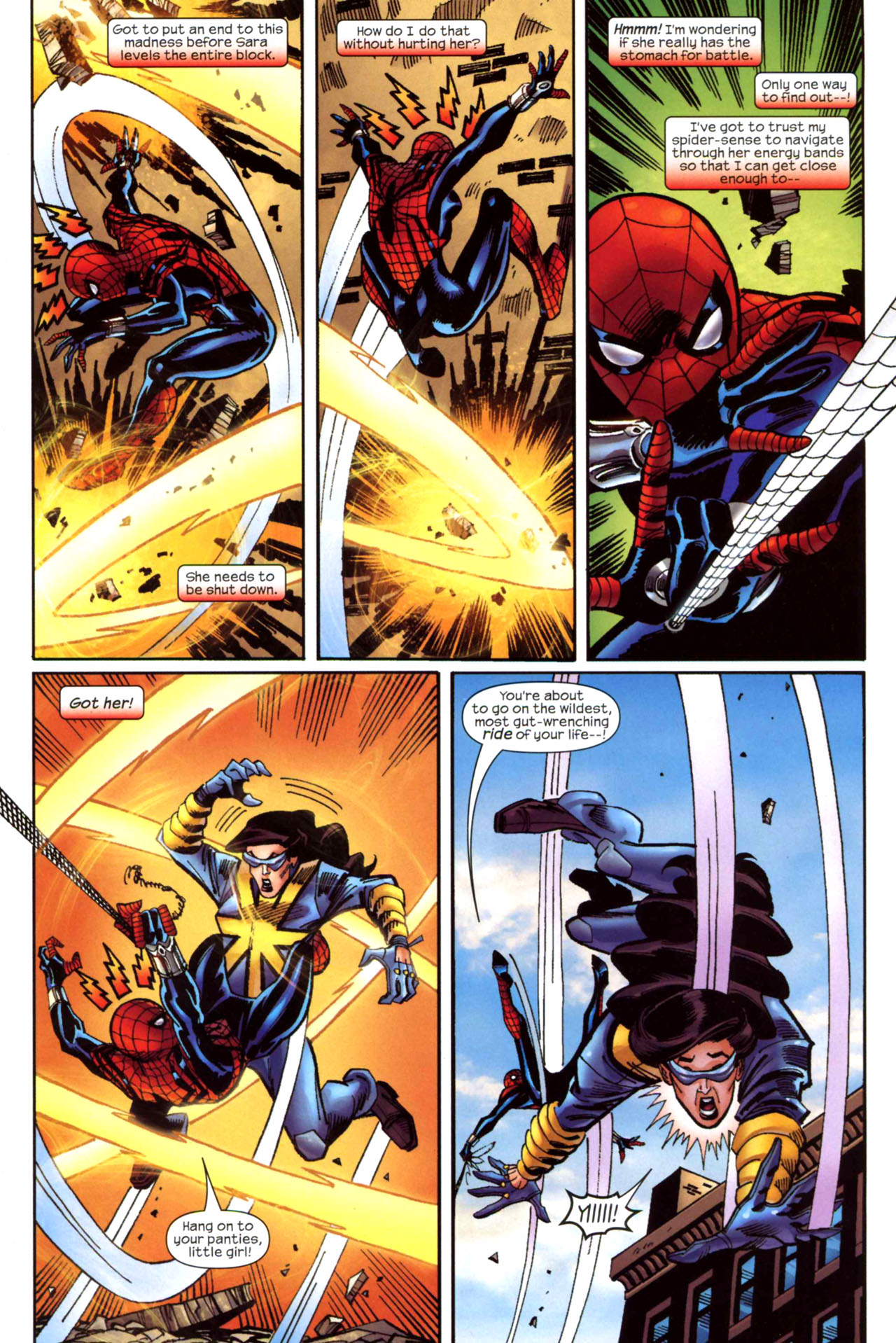 Read online Amazing Spider-Girl comic -  Issue #21 - 21