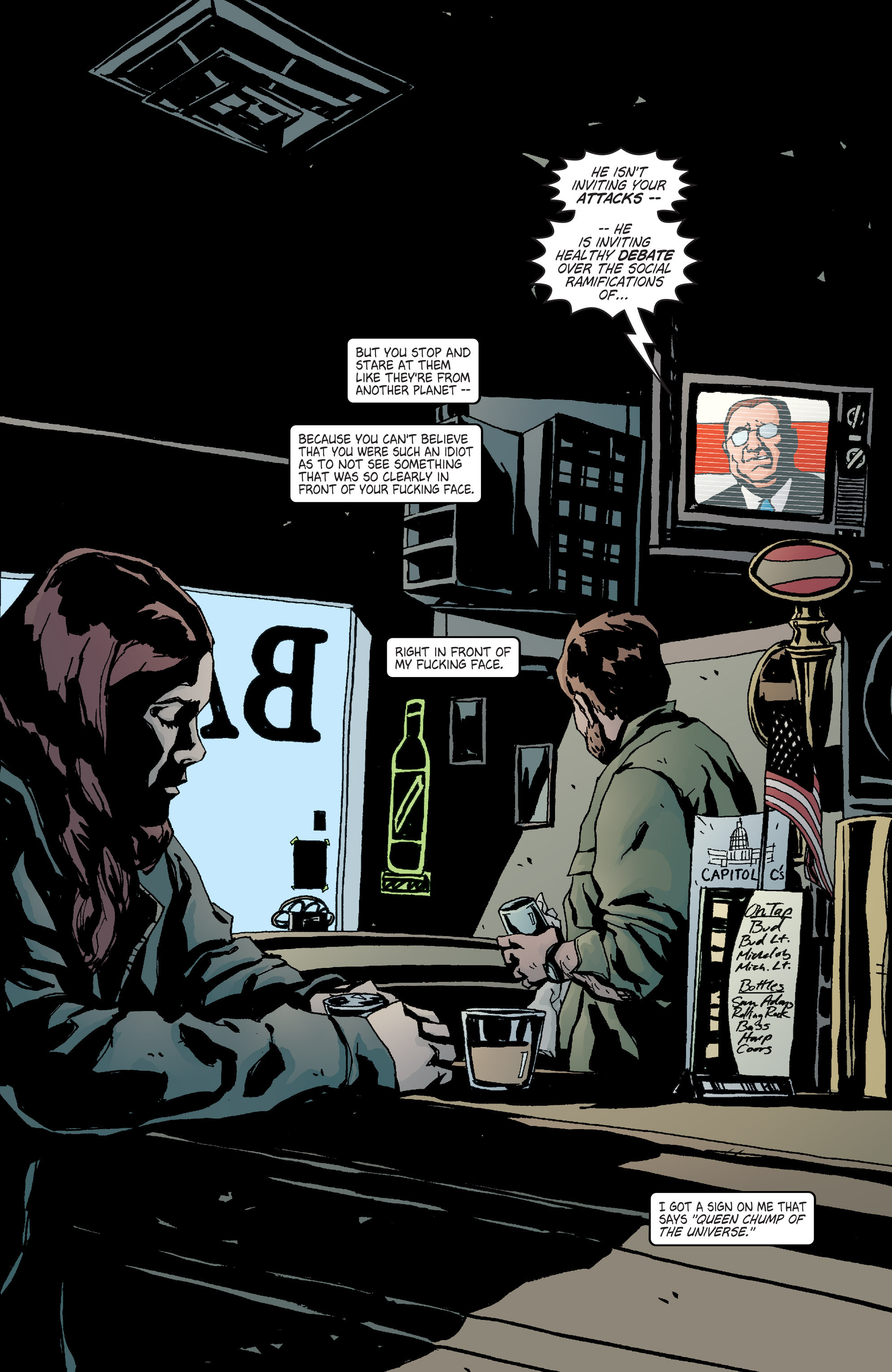 Read online Alias comic -  Issue #4 - 5