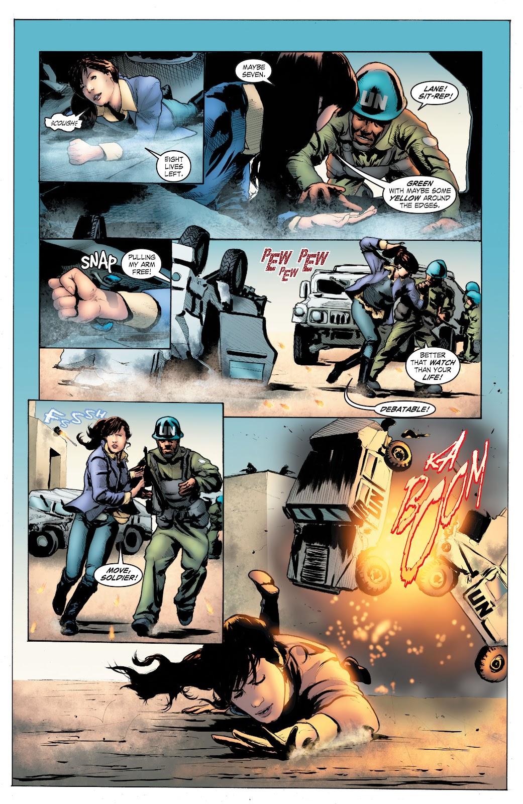 Read online Smallville Season 11 [II] comic -  Issue # TPB 4 - 110