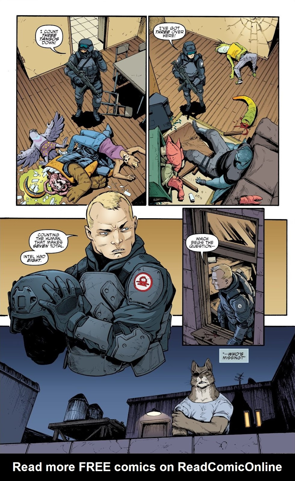 Read online Teenage Mutant Ninja Turtles: The IDW Collection comic -  Issue # TPB 9 (Part 1) - 27