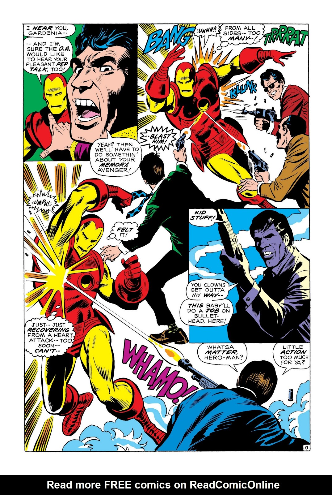 Read online Marvel Masterworks: The Invincible Iron Man comic -  Issue # TPB 7 (Part 3) - 78