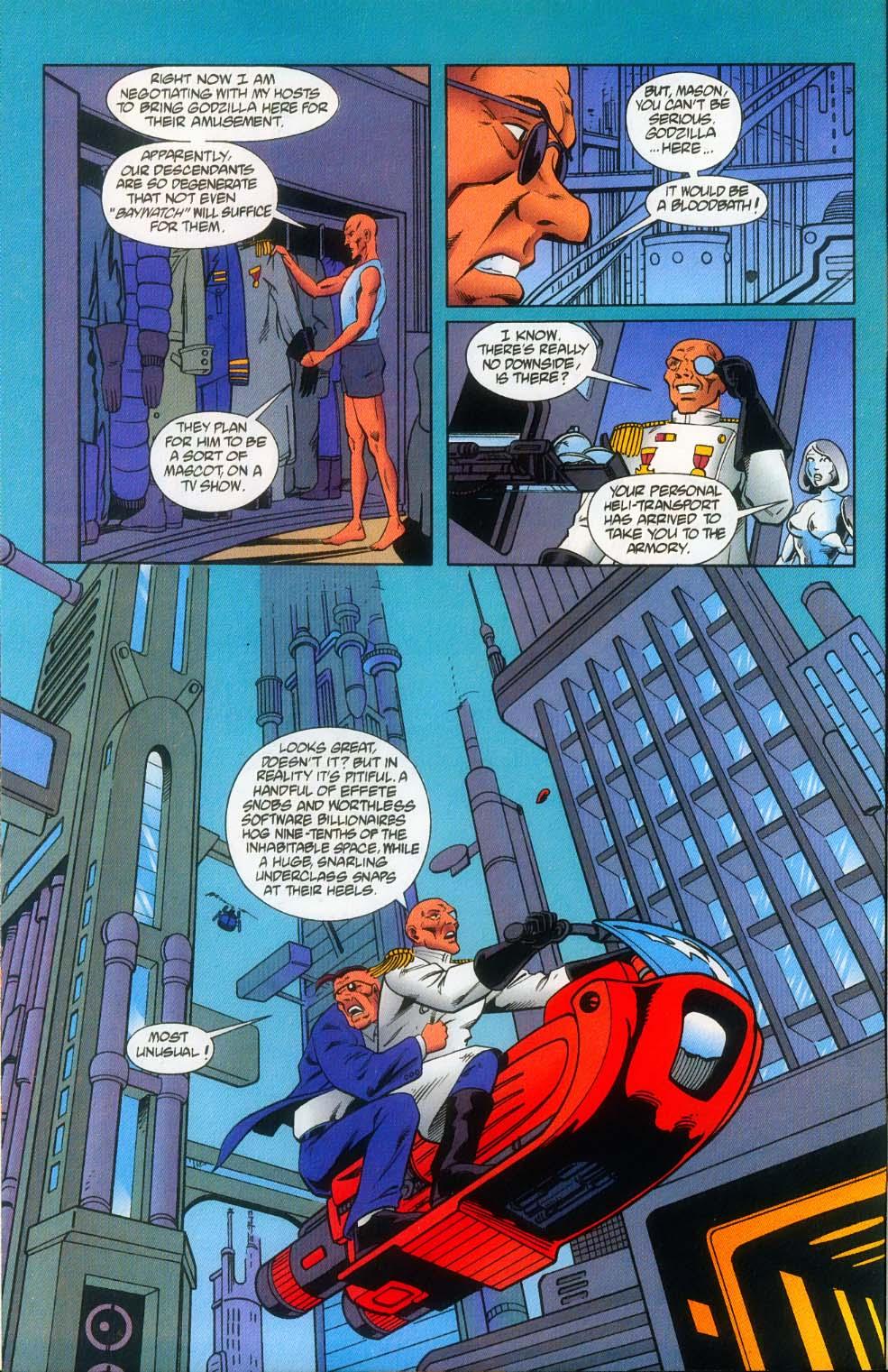 Godzilla (1995) Issue #12 #13 - English 11
