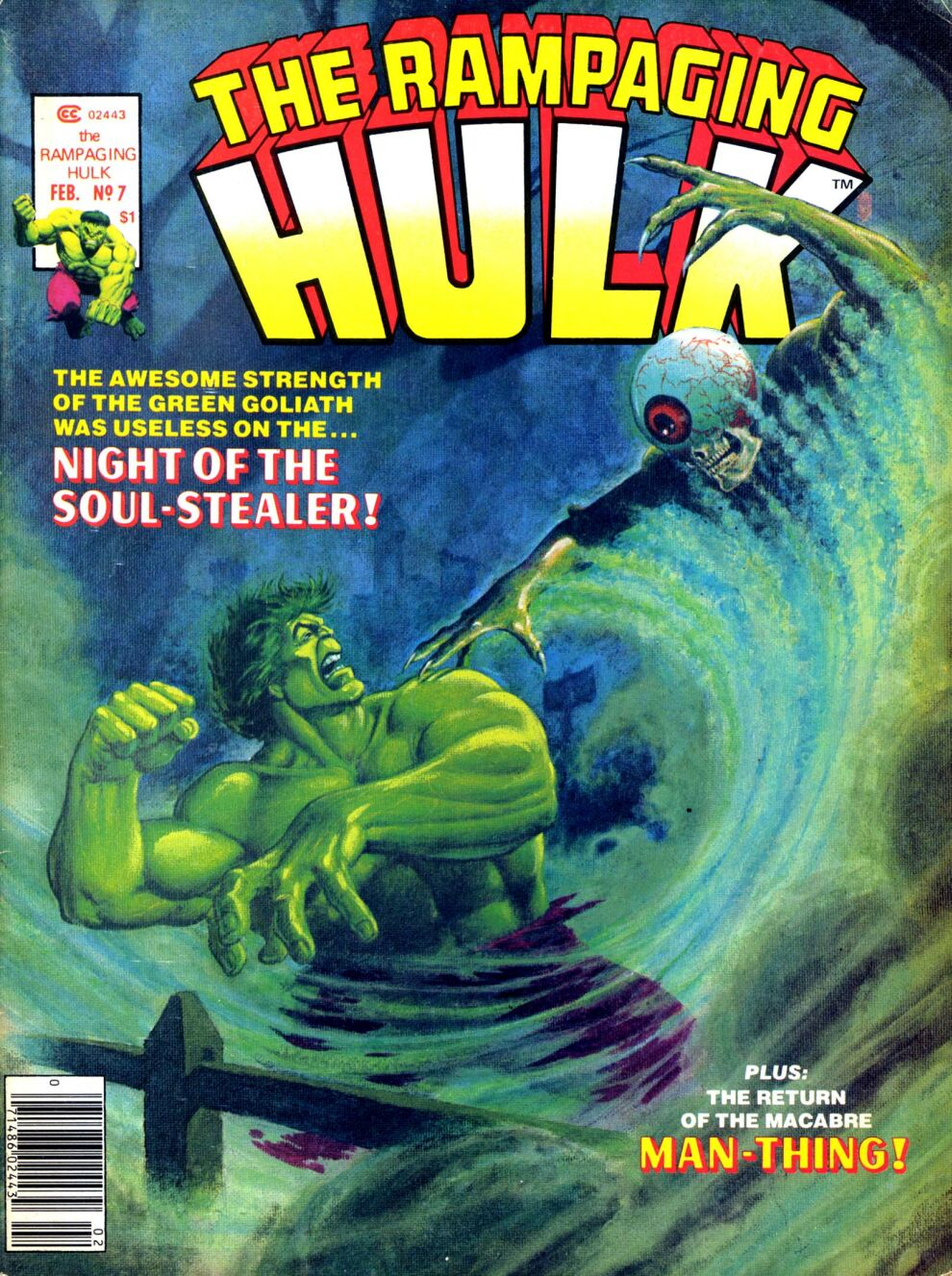 The Rampaging Hulk (1977) issue 7 - Page 1