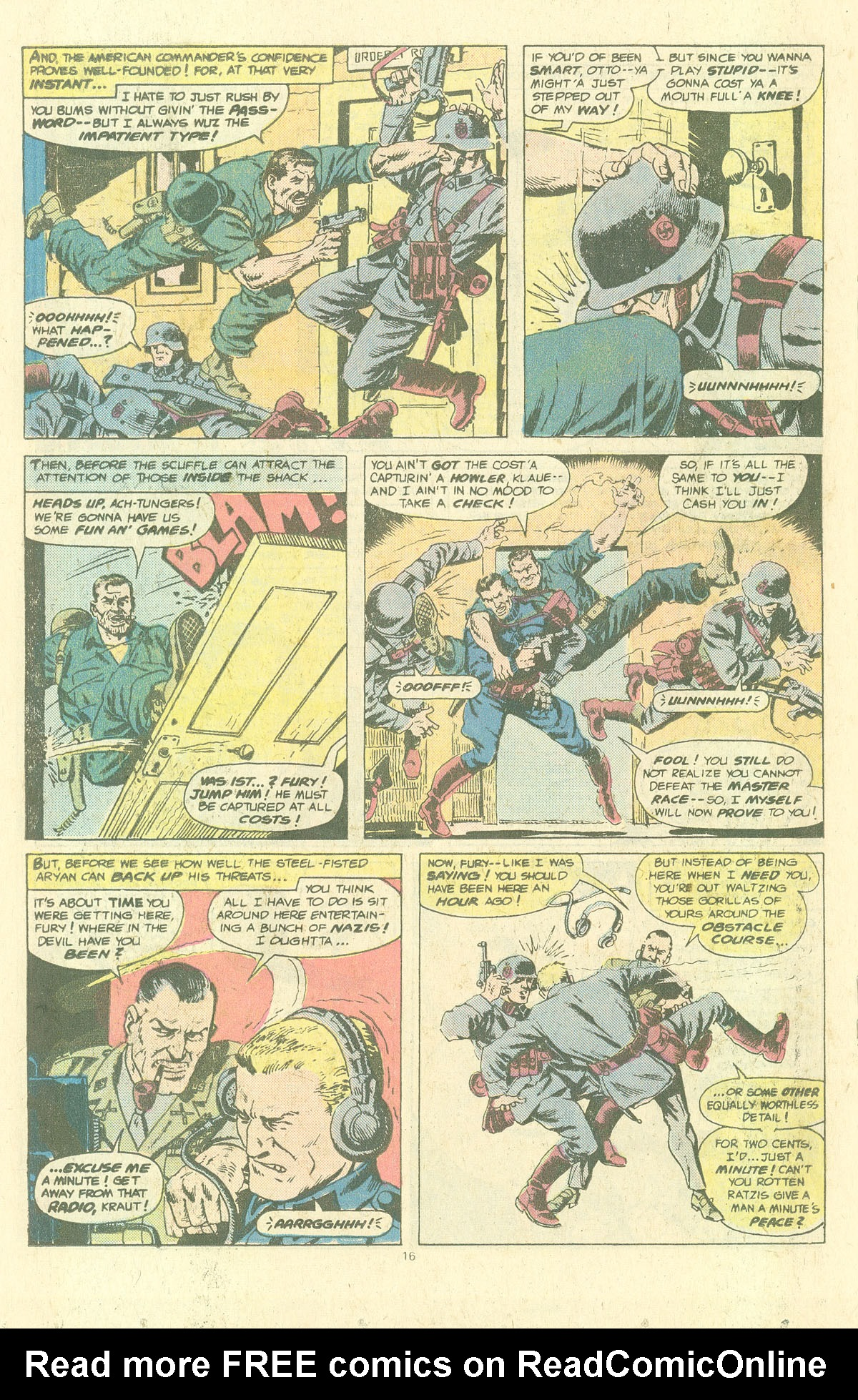 Read online Sgt. Fury comic -  Issue #143 - 18