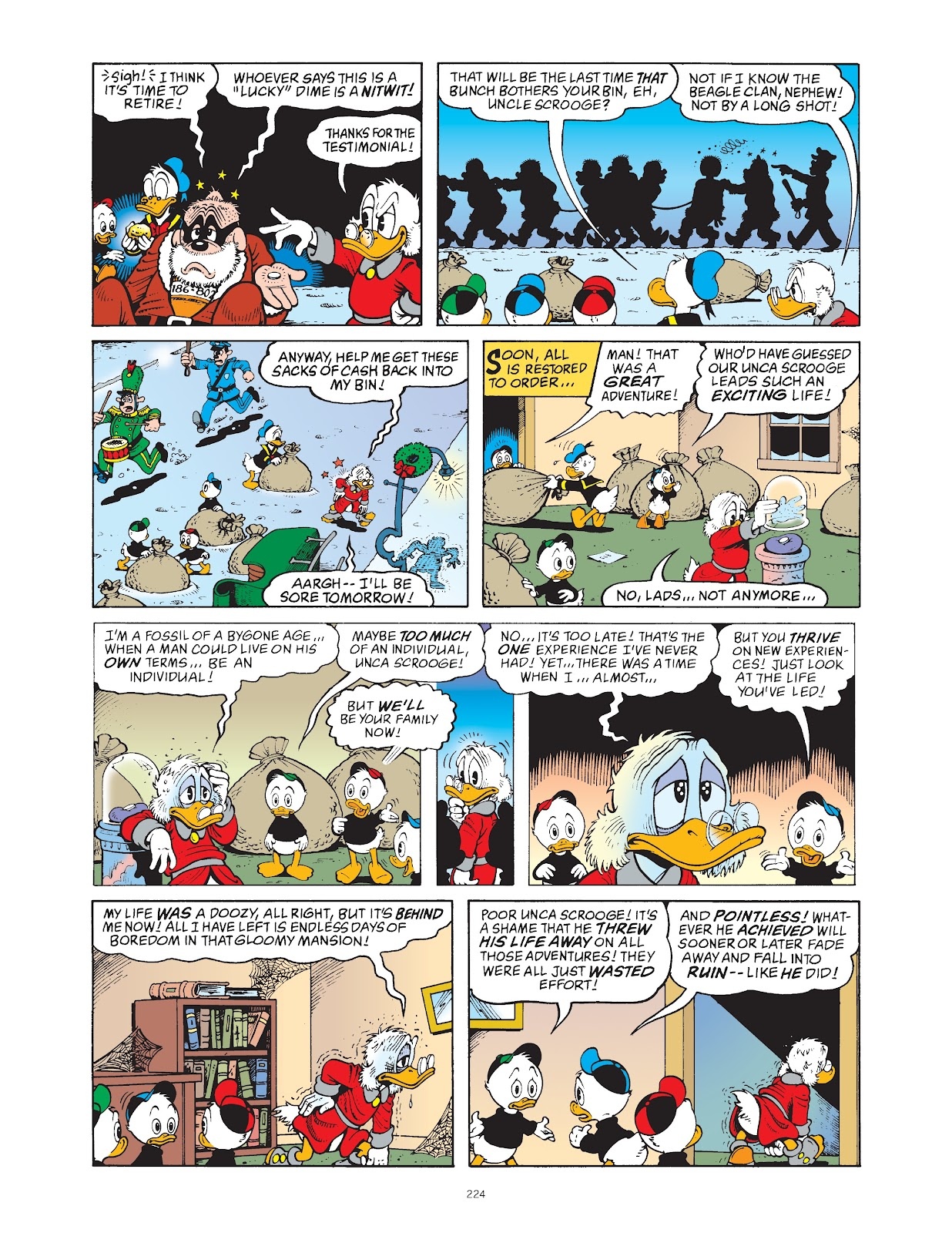 Read online The Complete Life and Times of Scrooge McDuck comic -  Issue # TPB 1 (Part 2) - 117