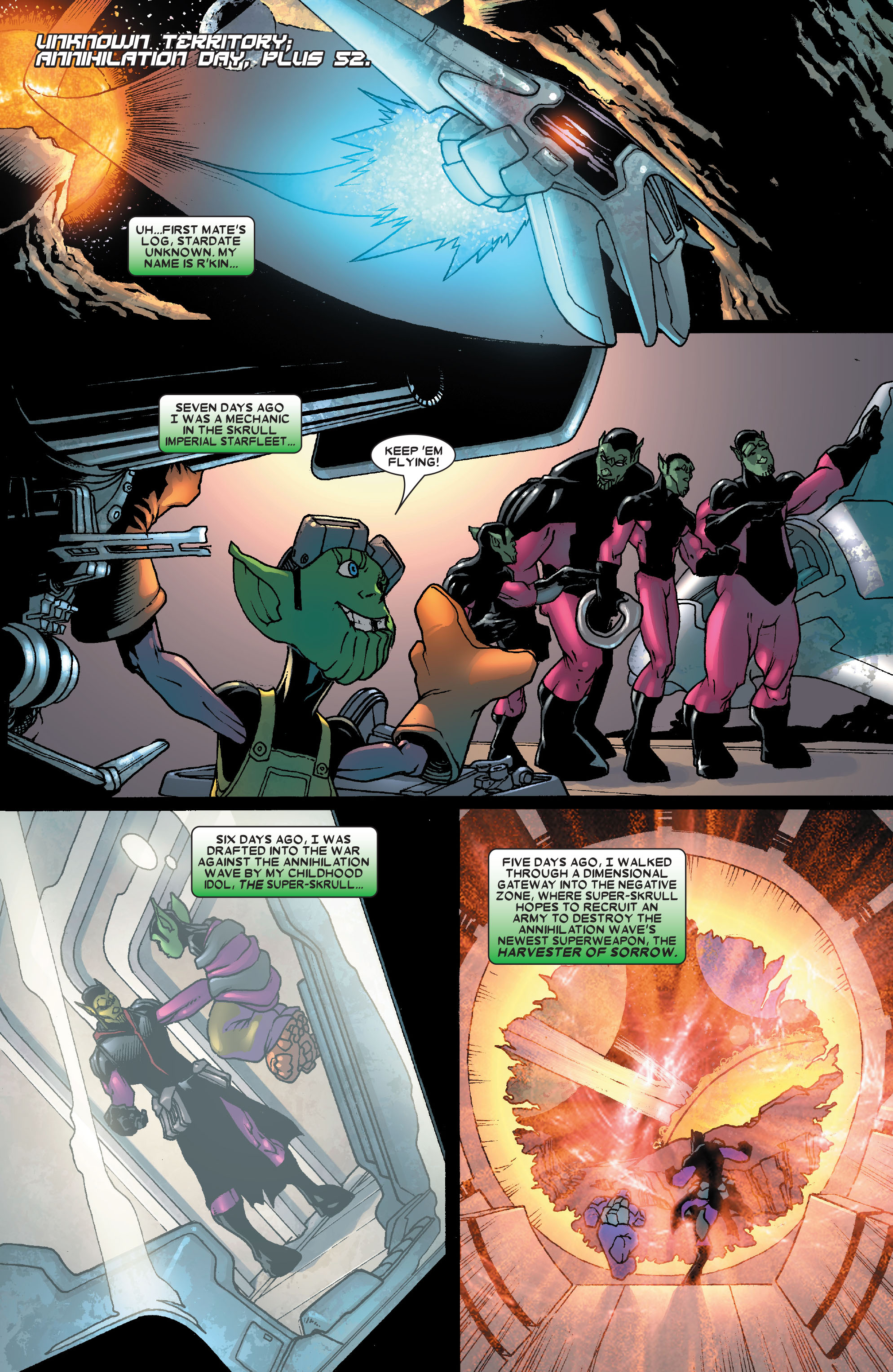 Read online Annihilation: Super-Skrull comic -  Issue #2 - 3