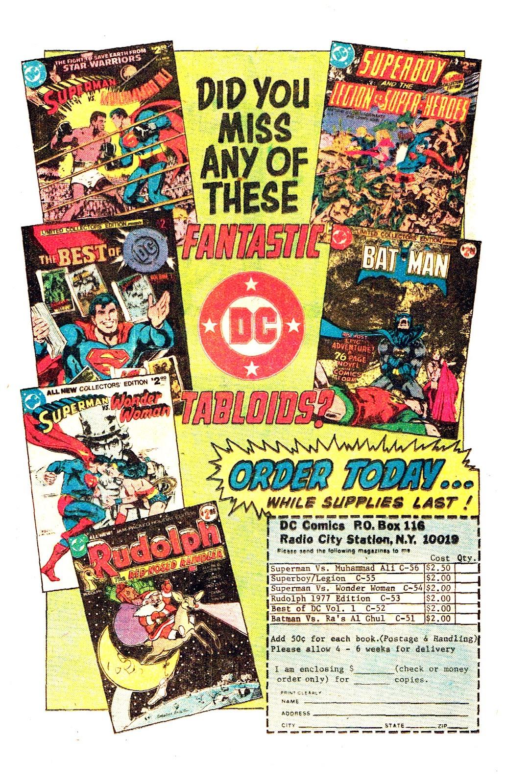 Comic Secret Society of Super-Villains issue 14