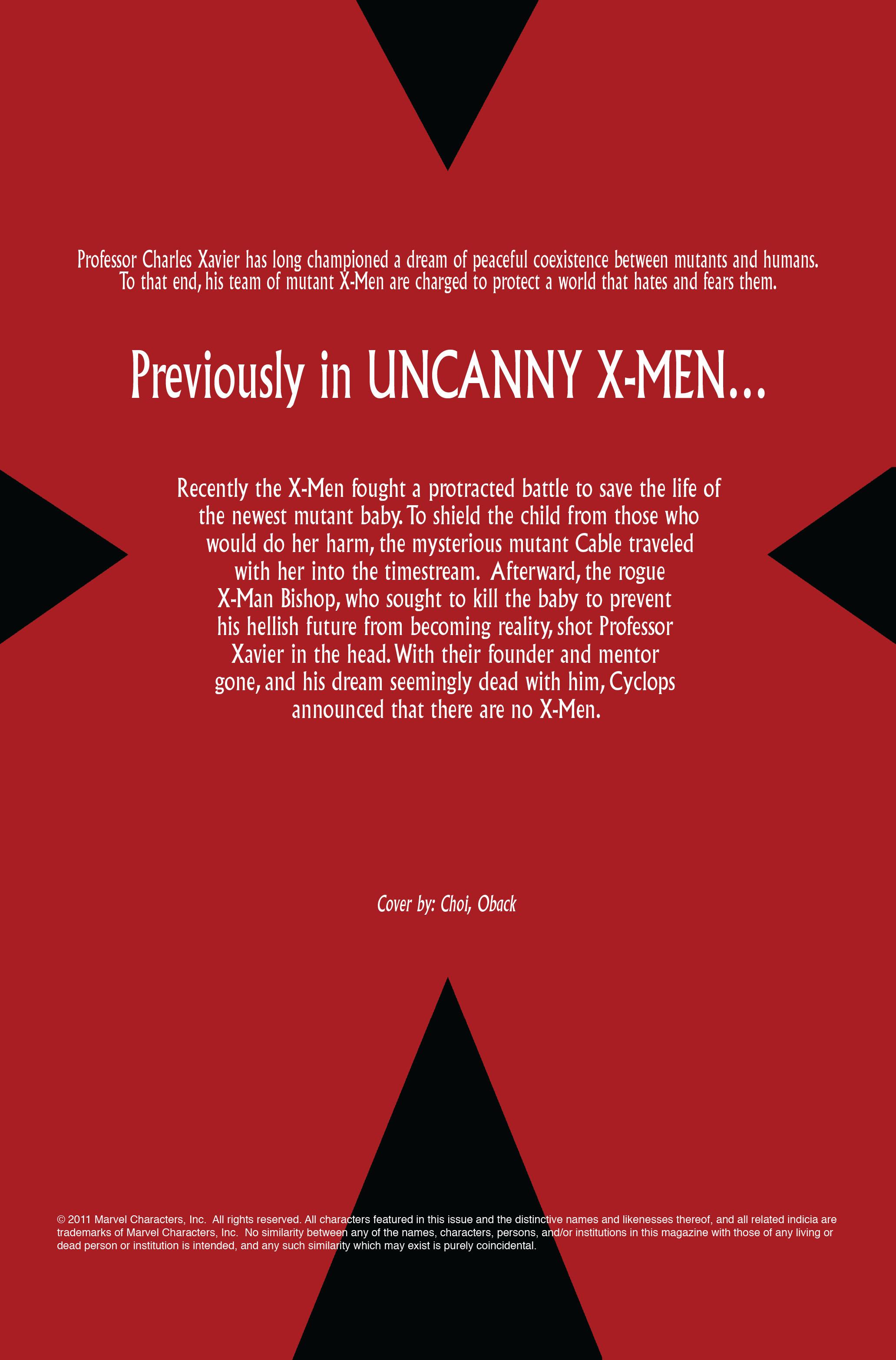 Read online Uncanny X-Men (1963) comic -  Issue #495 - 2