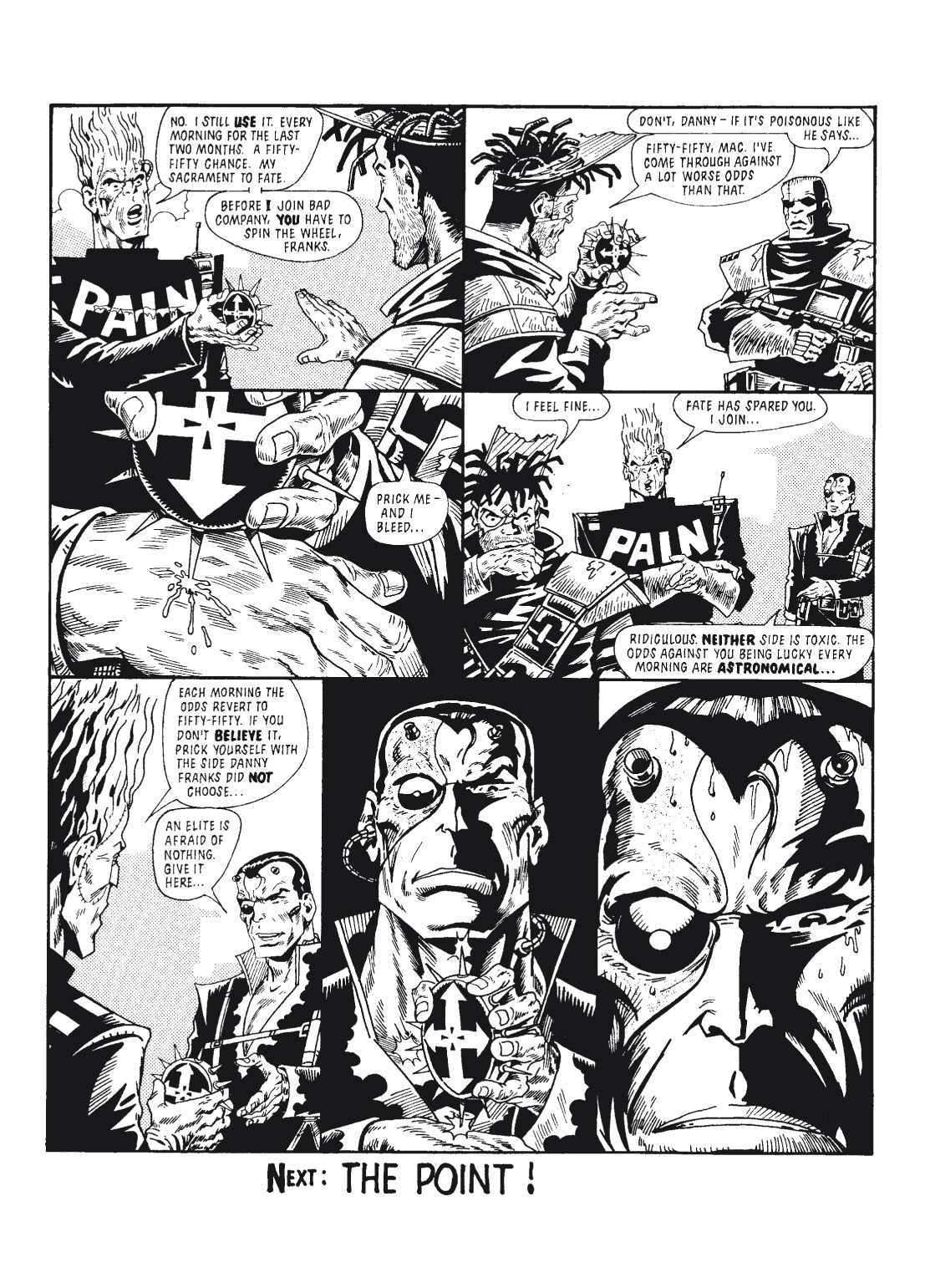 Read online The Complete Bad Company comic -  Issue # TPB - 143