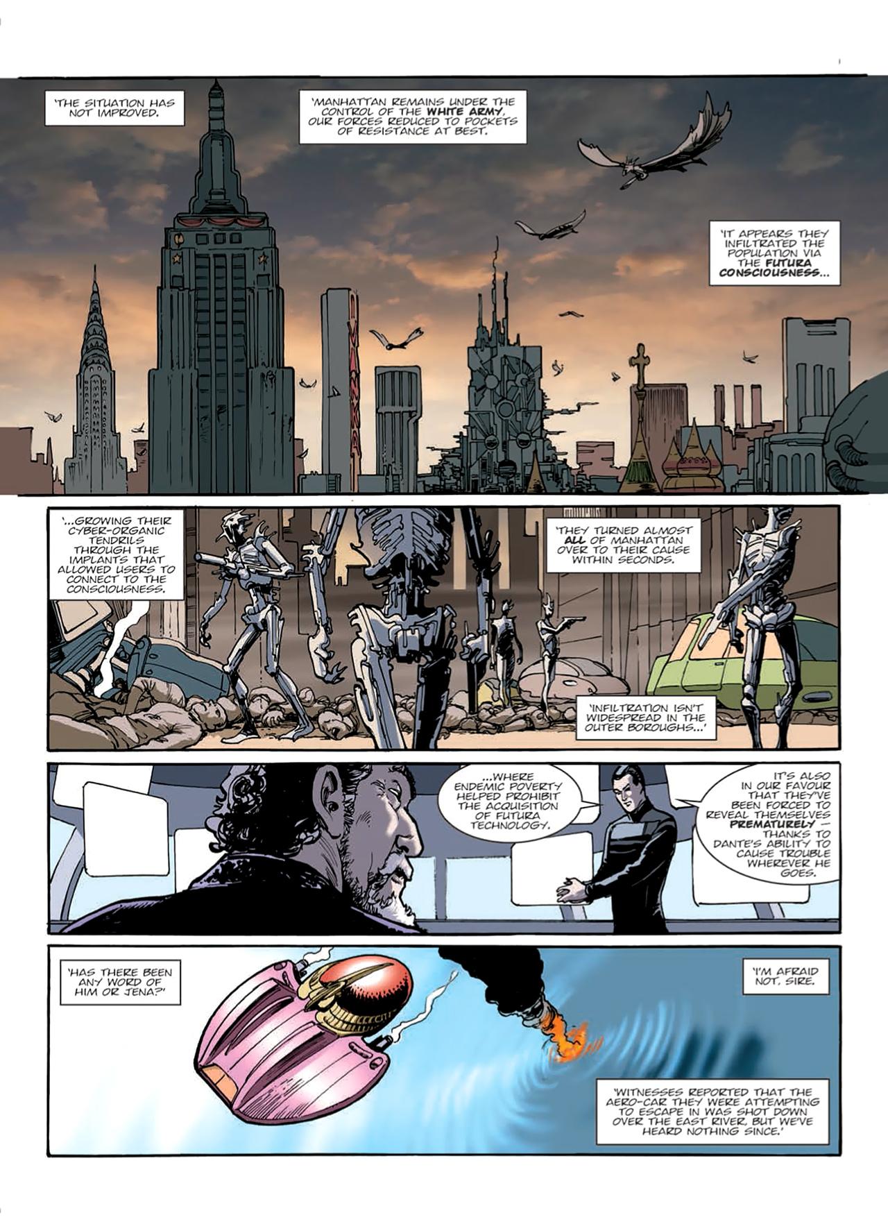 Read online Nikolai Dante comic -  Issue # TPB 9 - 54