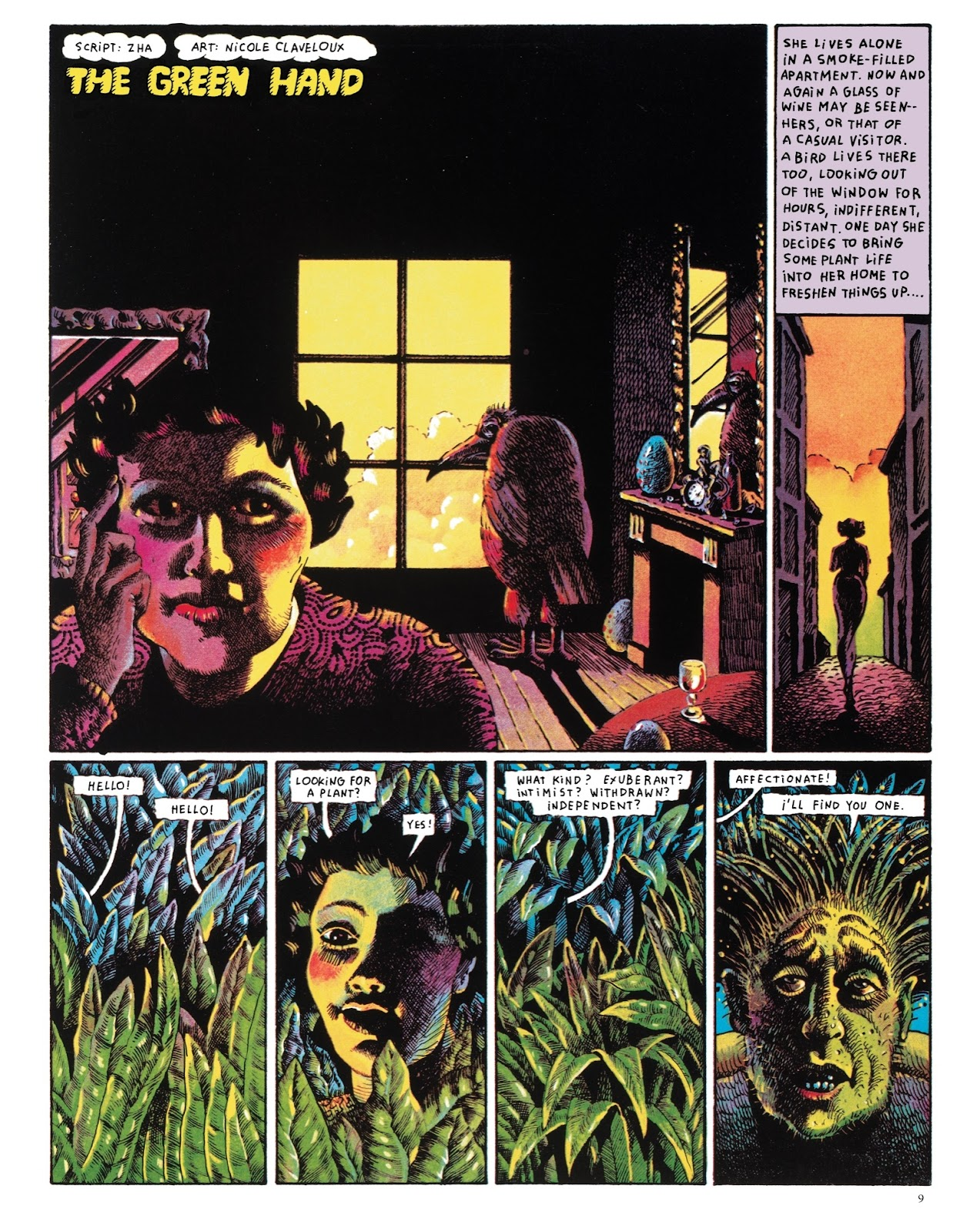 Read online The Green Hand and Other Stories comic -  Issue # TPB - 8
