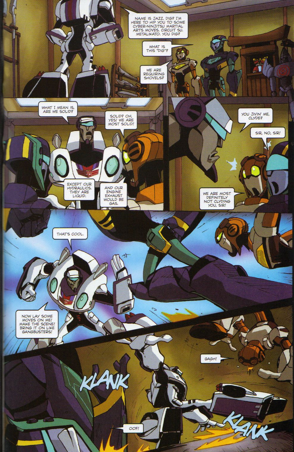 Read online Transformers Animated: The Arrival comic -  Issue #6 - 15