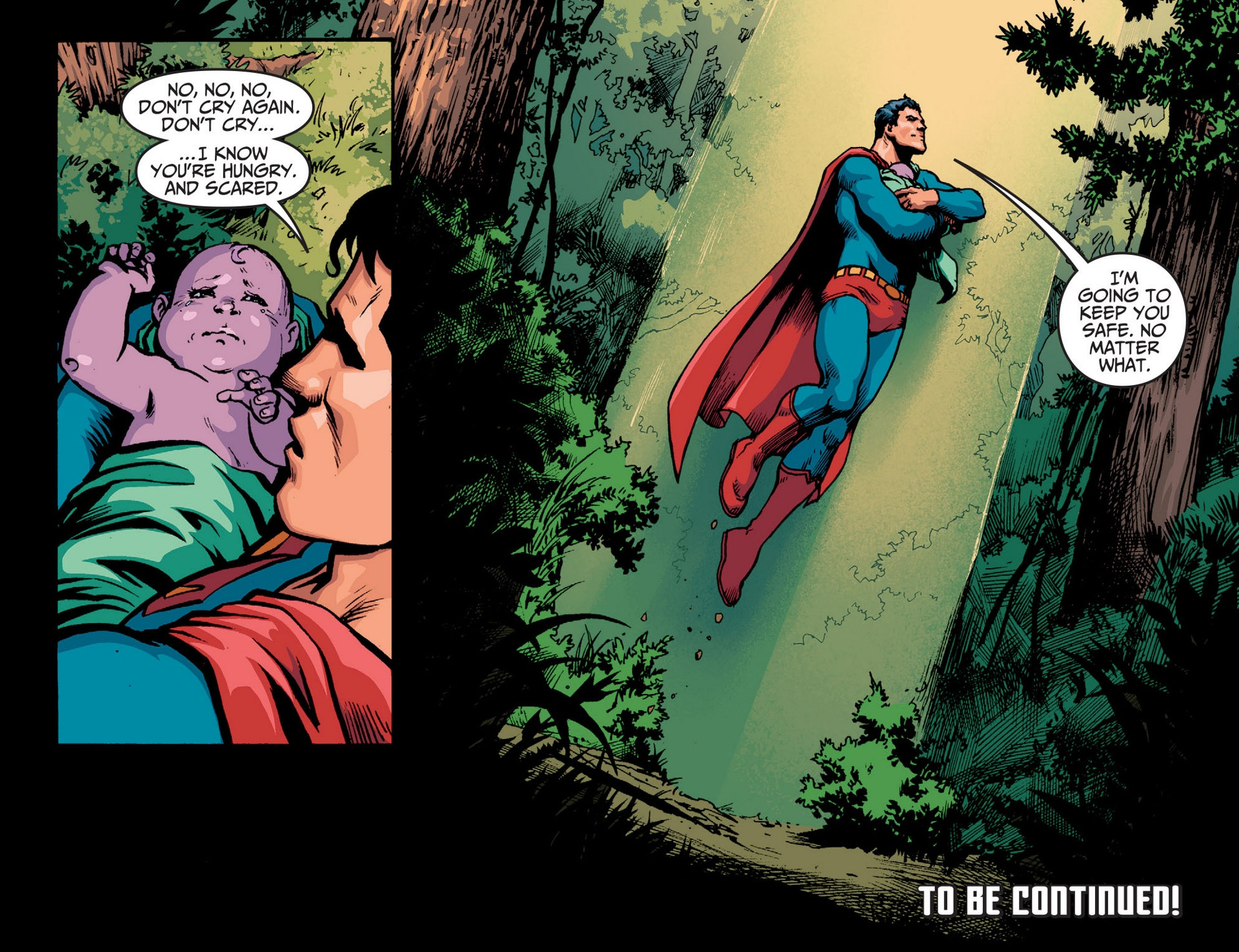 Read online Adventures of Superman [I] comic -  Issue #13 - 22