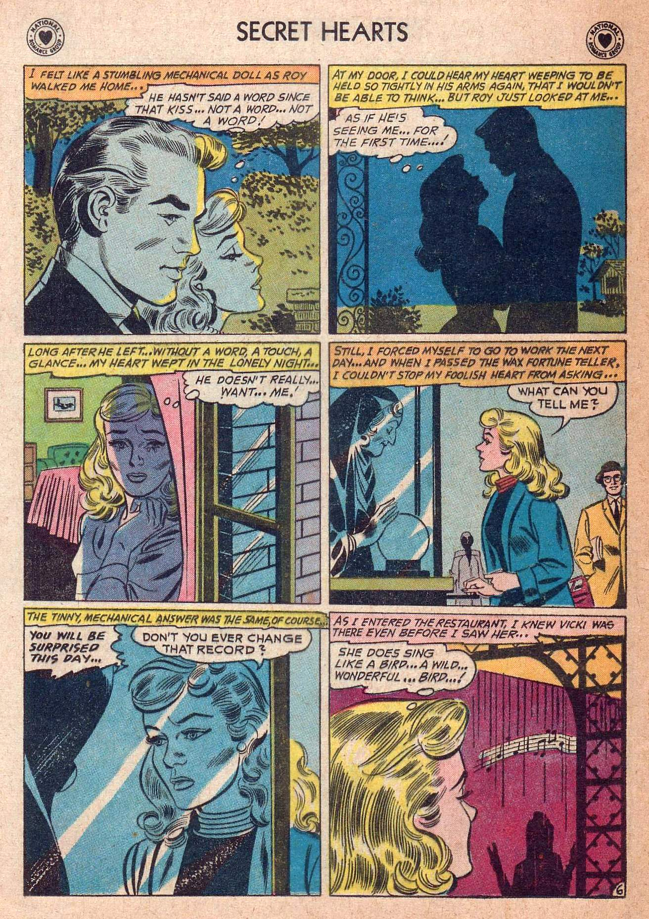 Read online Secret Hearts comic -  Issue #73 - 32