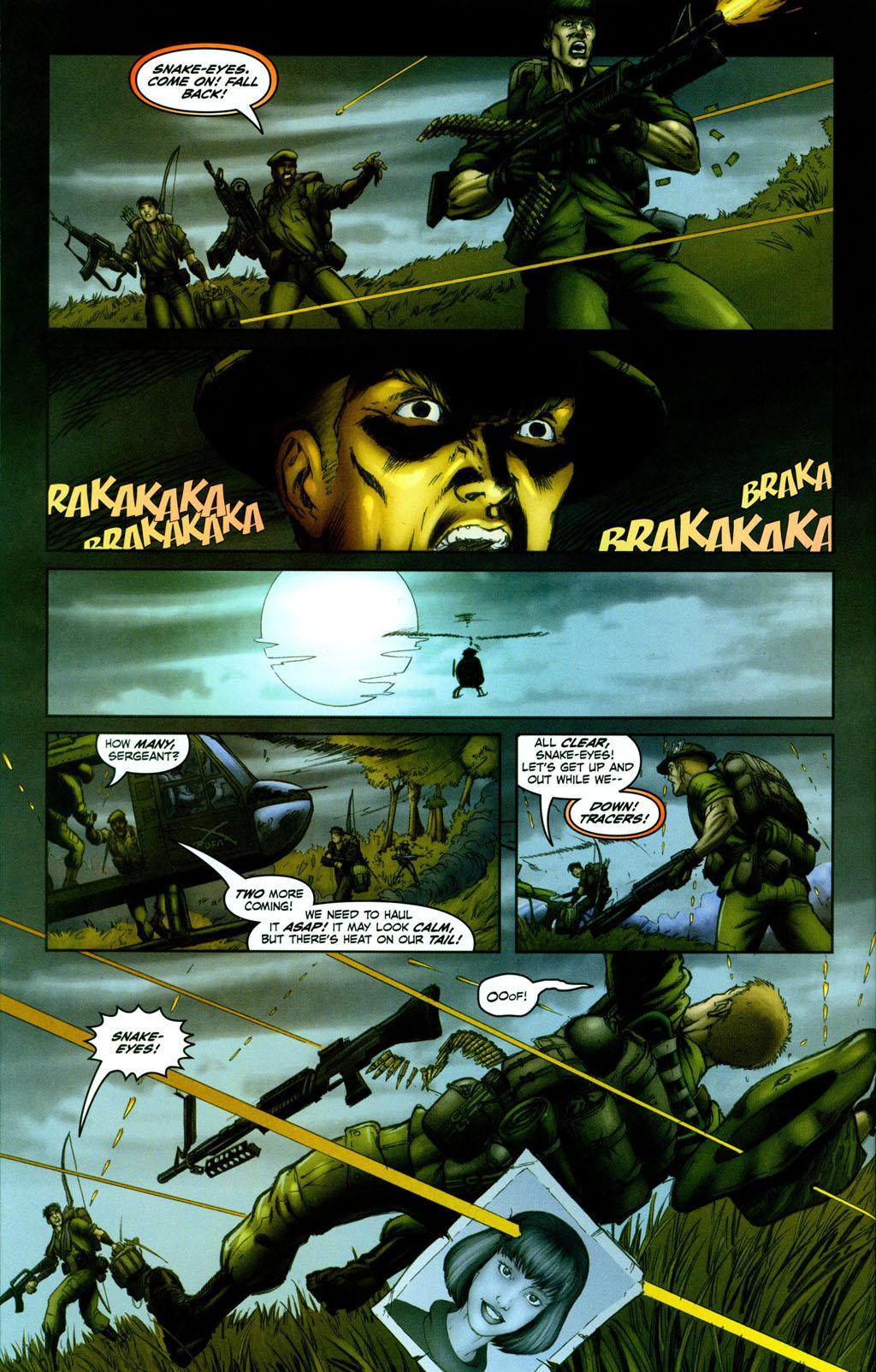Read online Snake Eyes: Declassified comic -  Issue #1 - 19