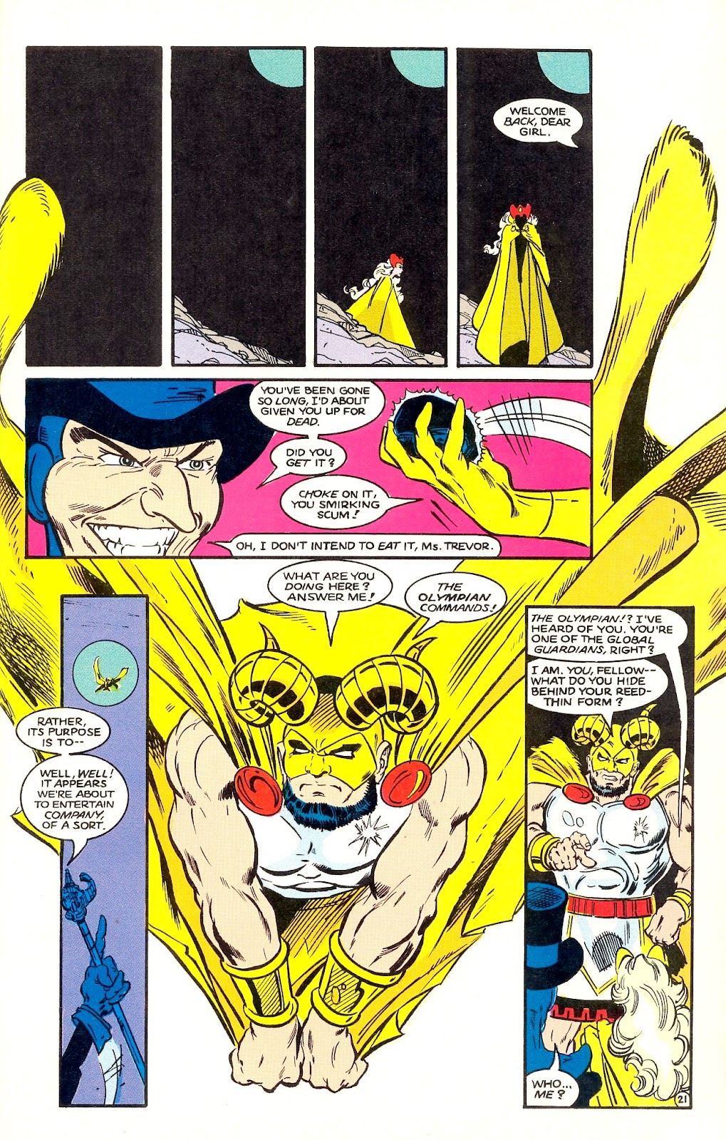 Infinity Inc. (1984) issue 35 - Page 23