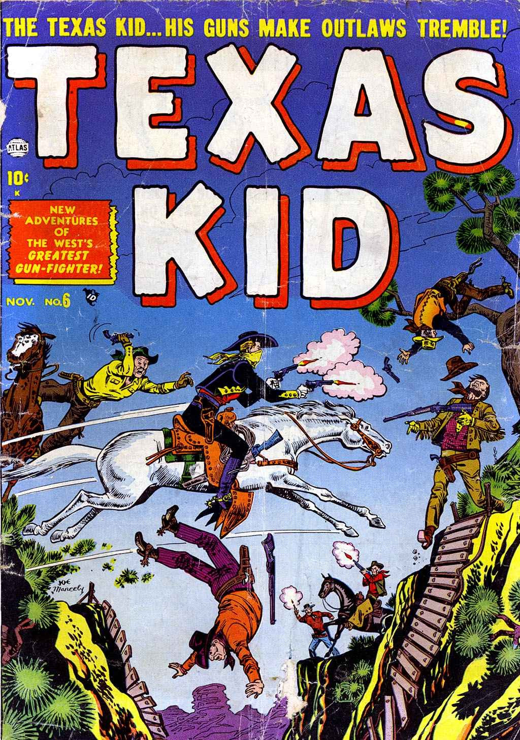 Texas Kid issue 6 - Page 1