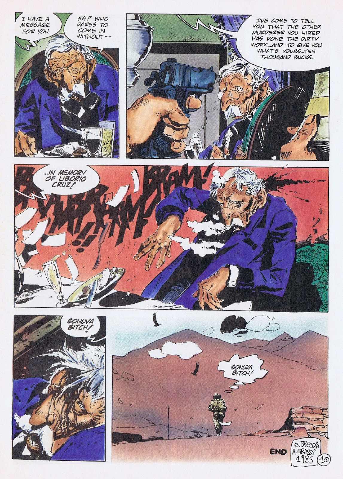 Read online Merchants of Death comic -  Issue #3 - 29