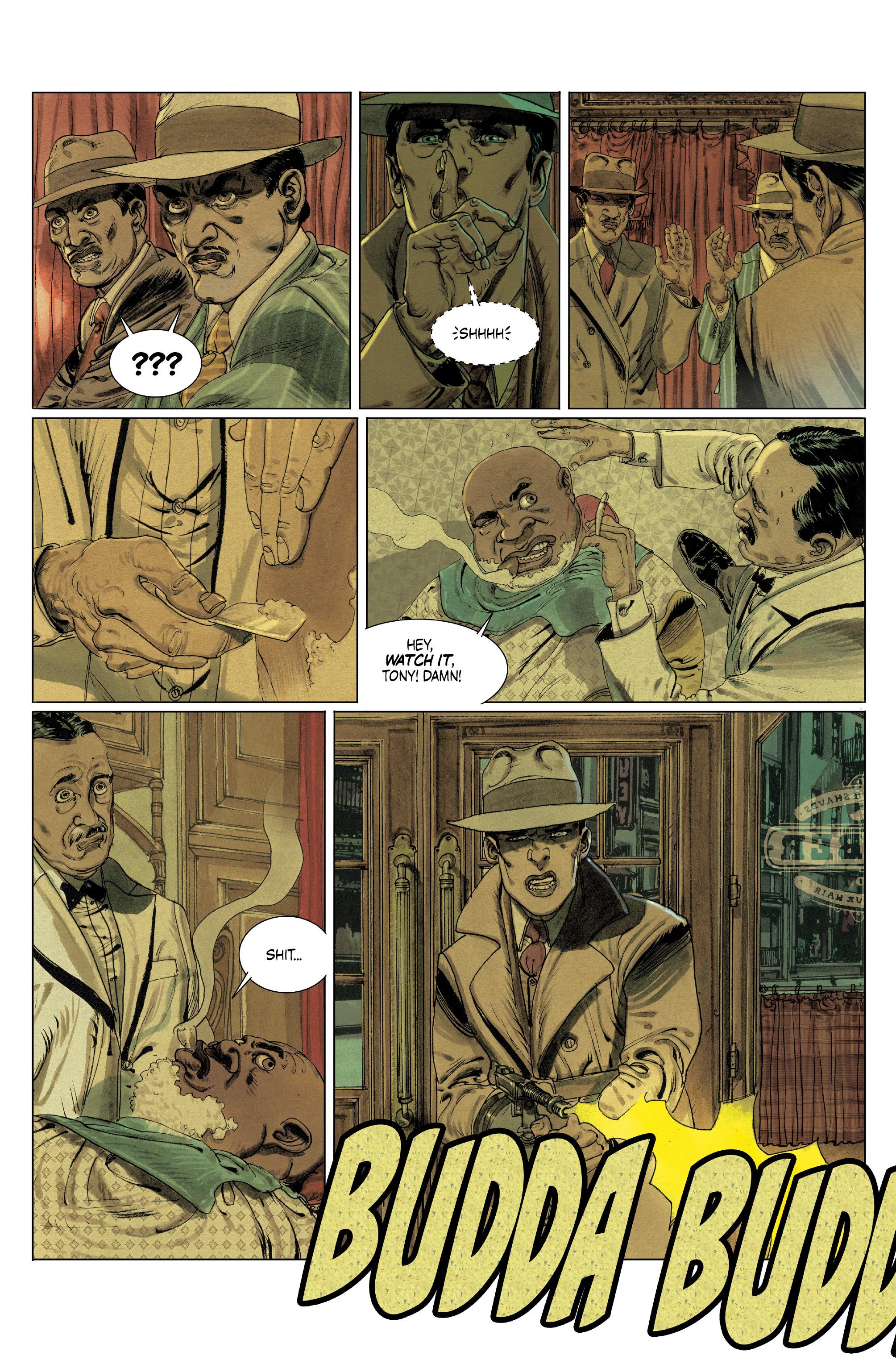 Read online Triggerman comic -  Issue #5 - 6