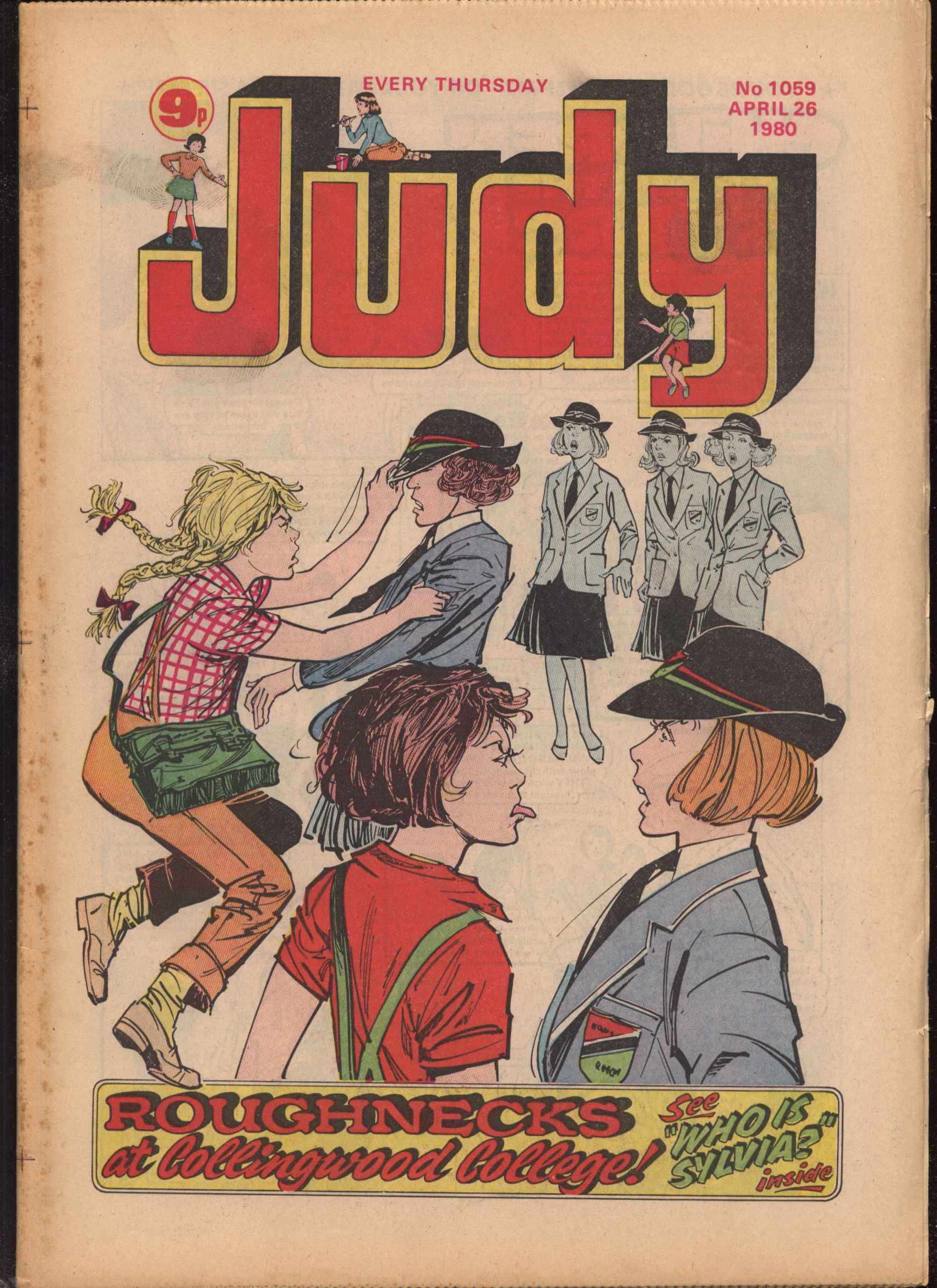 Read online Judy comic -  Issue #59 - 1