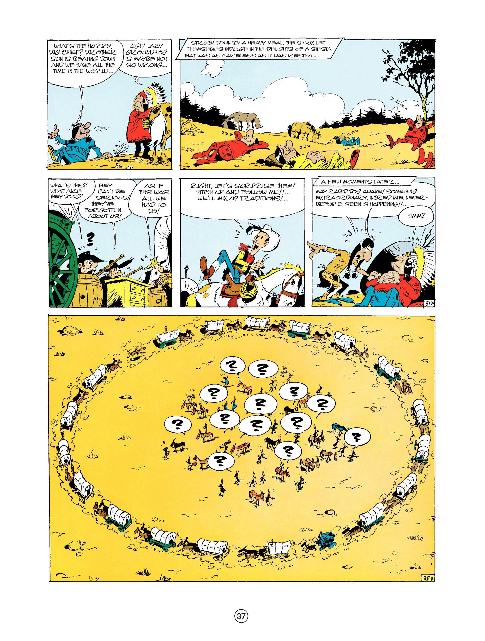 Read online A Lucky Luke Adventure comic -  Issue #9 - 37