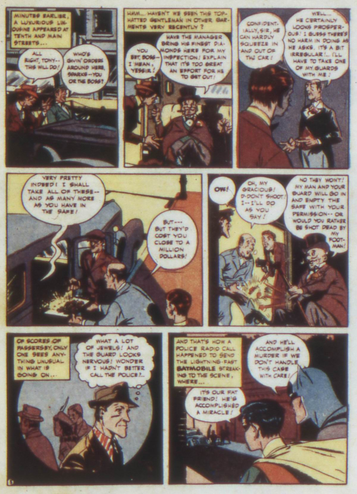 Read online Detective Comics (1937) comic -  Issue #74 - 7