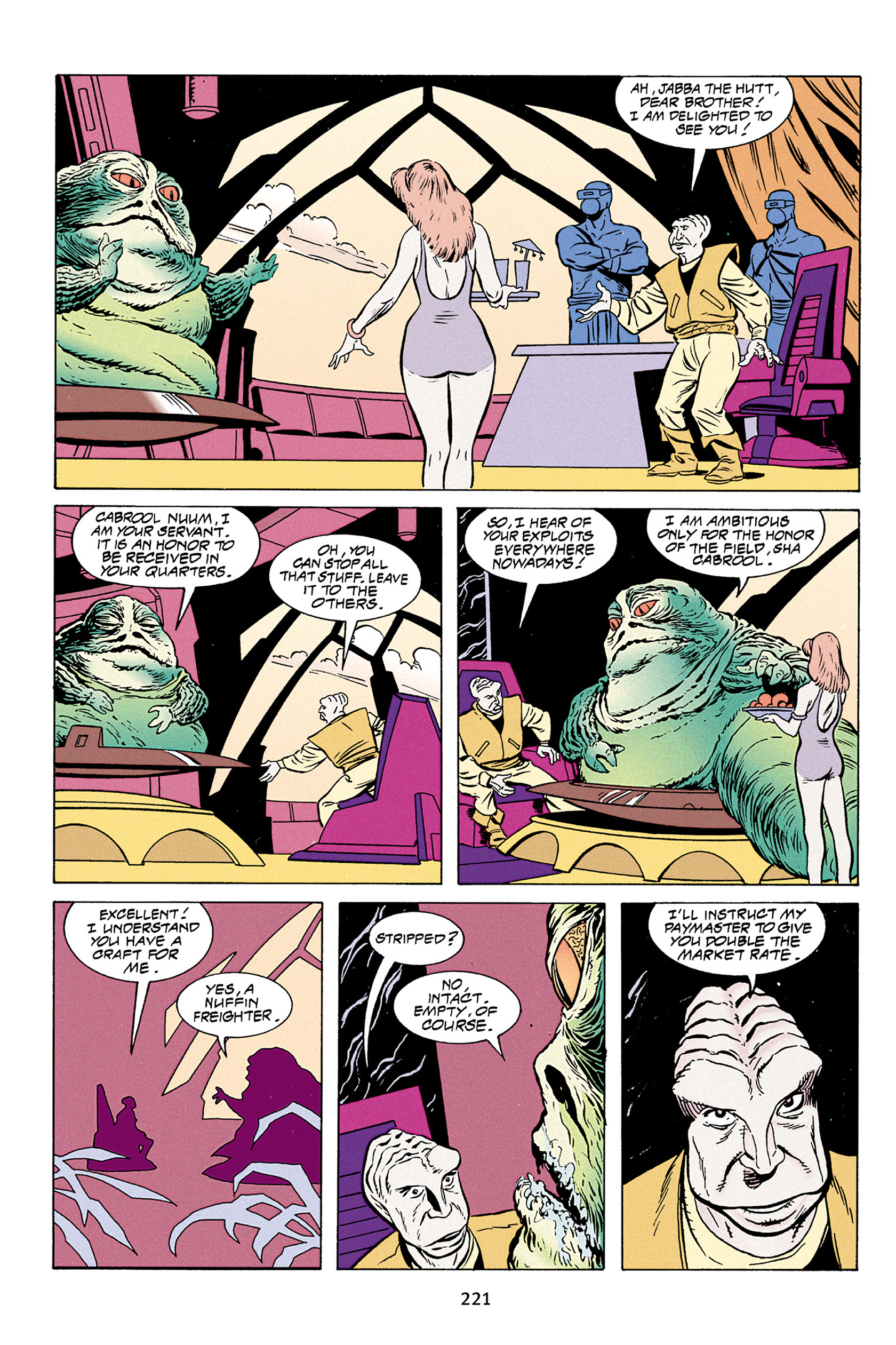 Read online Star Wars Omnibus comic -  Issue # Vol. 30 - 218
