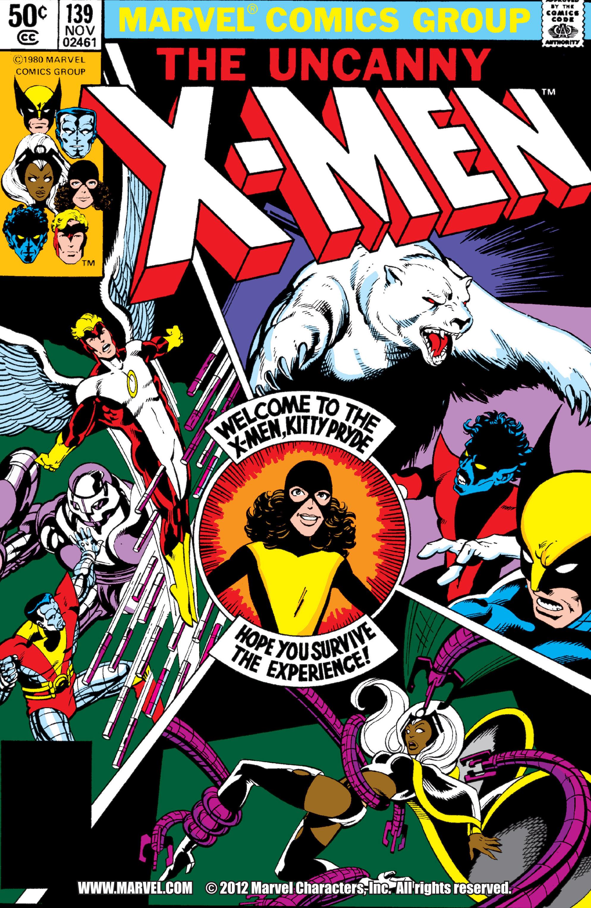 Uncanny X-Men (1963) 139 Page 0