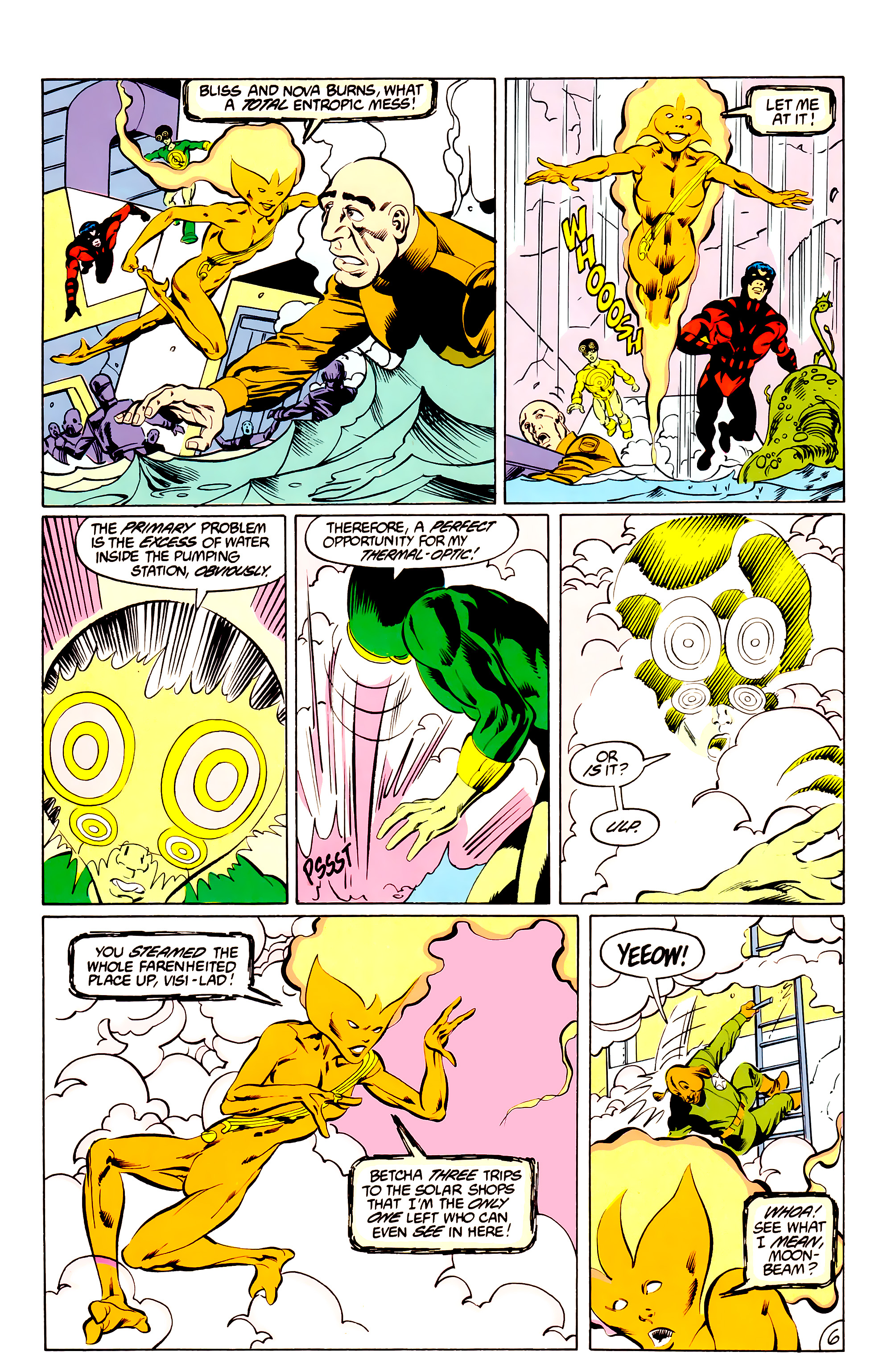 Legion of Super-Heroes (1984) _Annual_3 Page 6