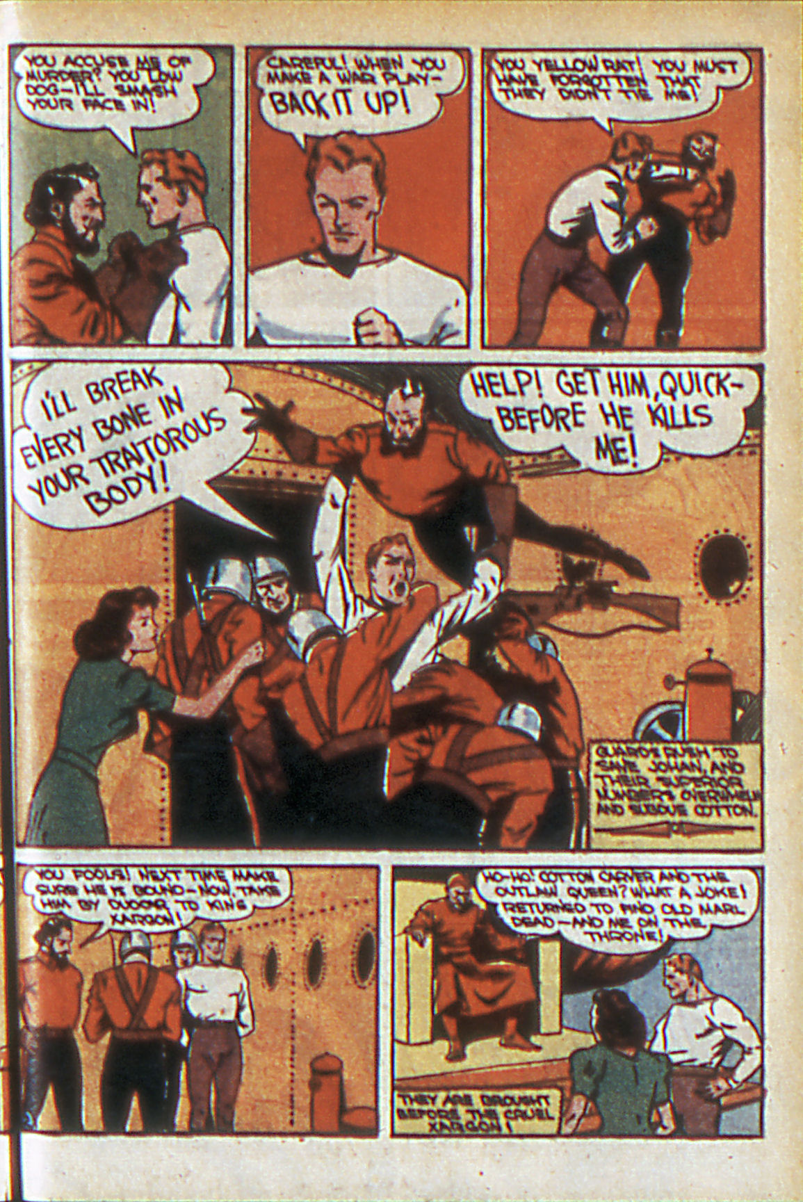 Read online Adventure Comics (1938) comic -  Issue #60 - 34